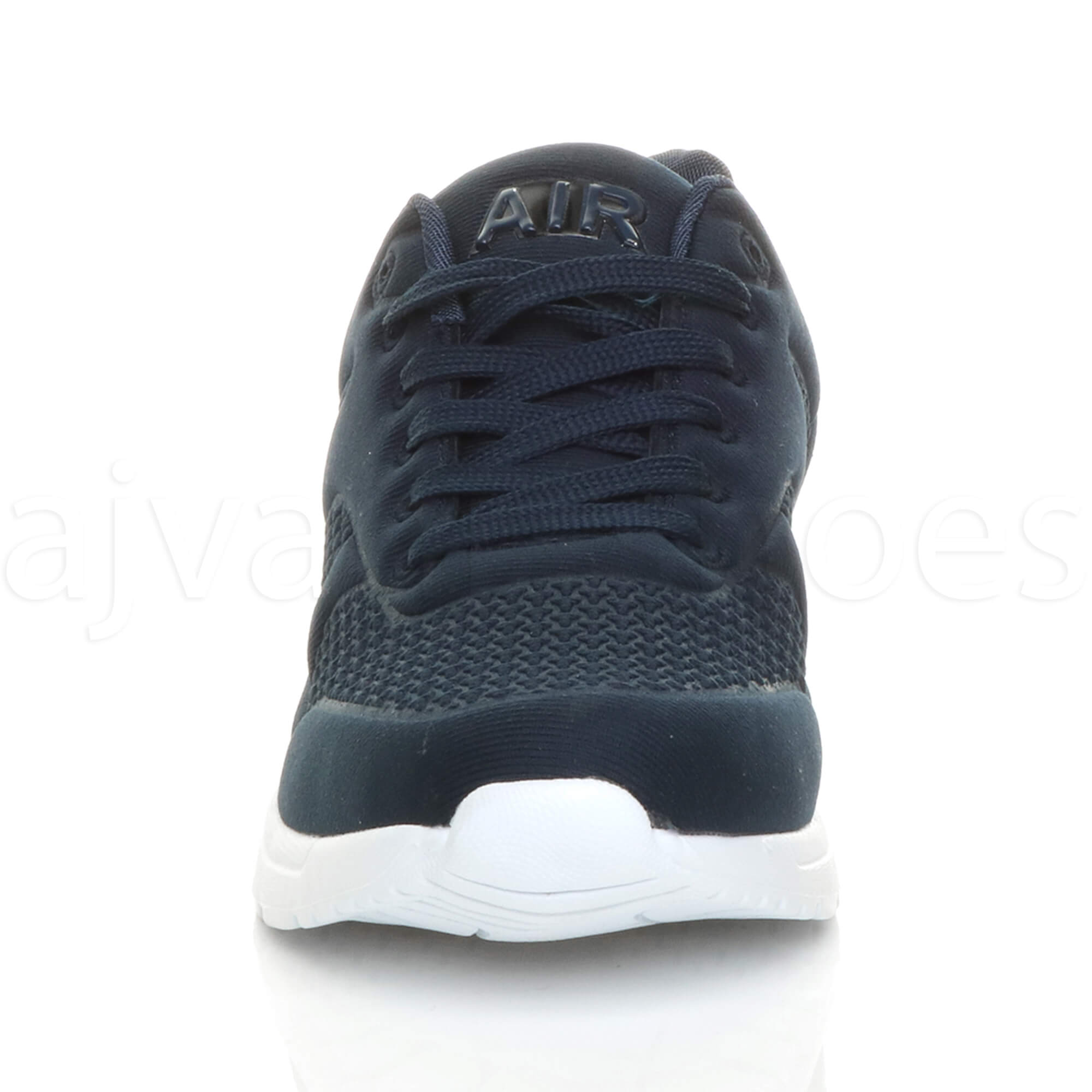 MENS-LACE-UP-FLEXIBLE-SOLE-RUNNING-SPORT-GYM-FITNESS-TRAINERS-SNEAKERS-SIZE miniatuur 15