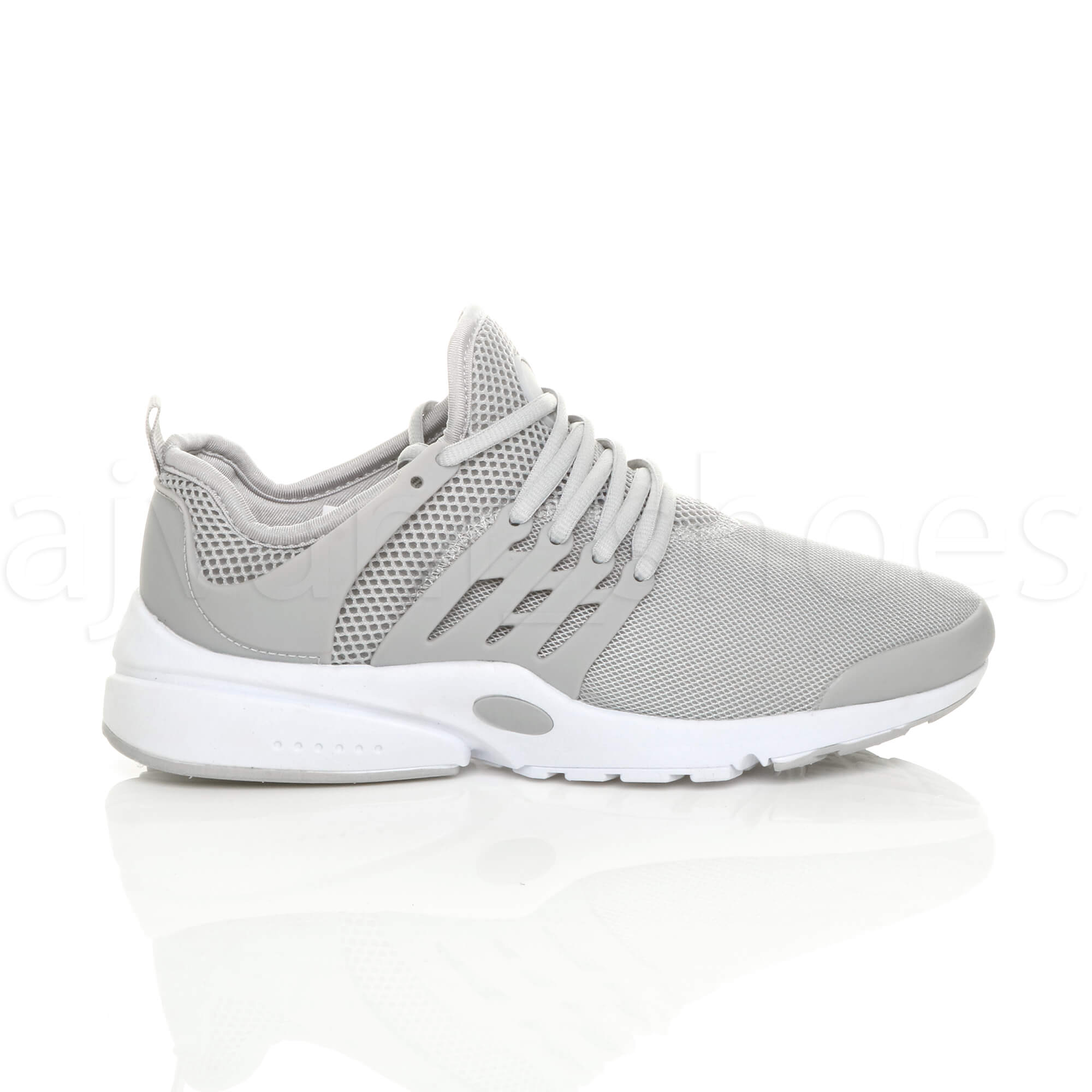MENS-LACE-UP-SPORTS-GYM-FITNESS-RUNNING-FLEXIBLE-TRAINERS-CASUAL-SNEAKERS-SIZE thumbnail 19