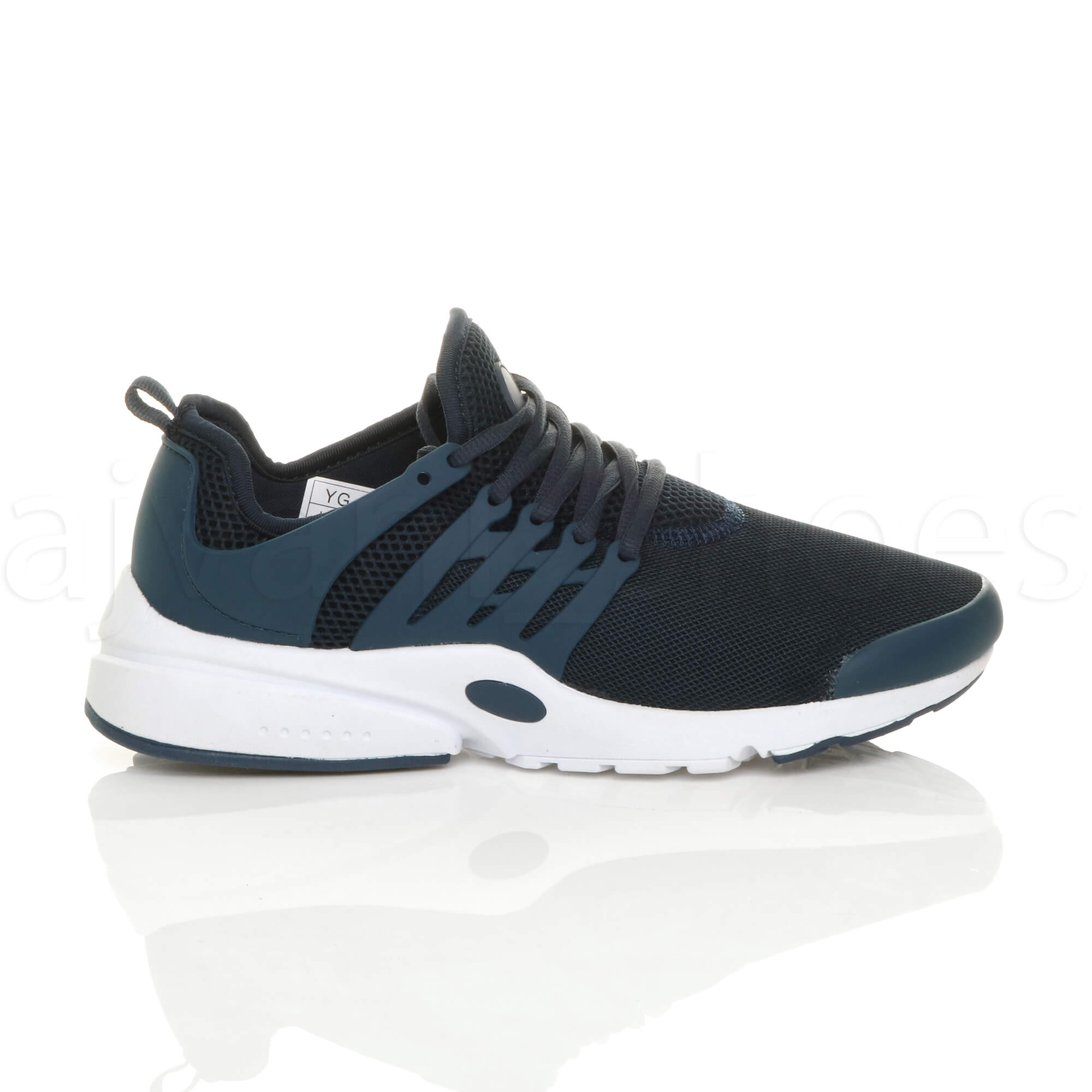 MENS-LACE-UP-SPORTS-GYM-FITNESS-RUNNING-FLEXIBLE-TRAINERS-CASUAL-SNEAKERS-SIZE thumbnail 35