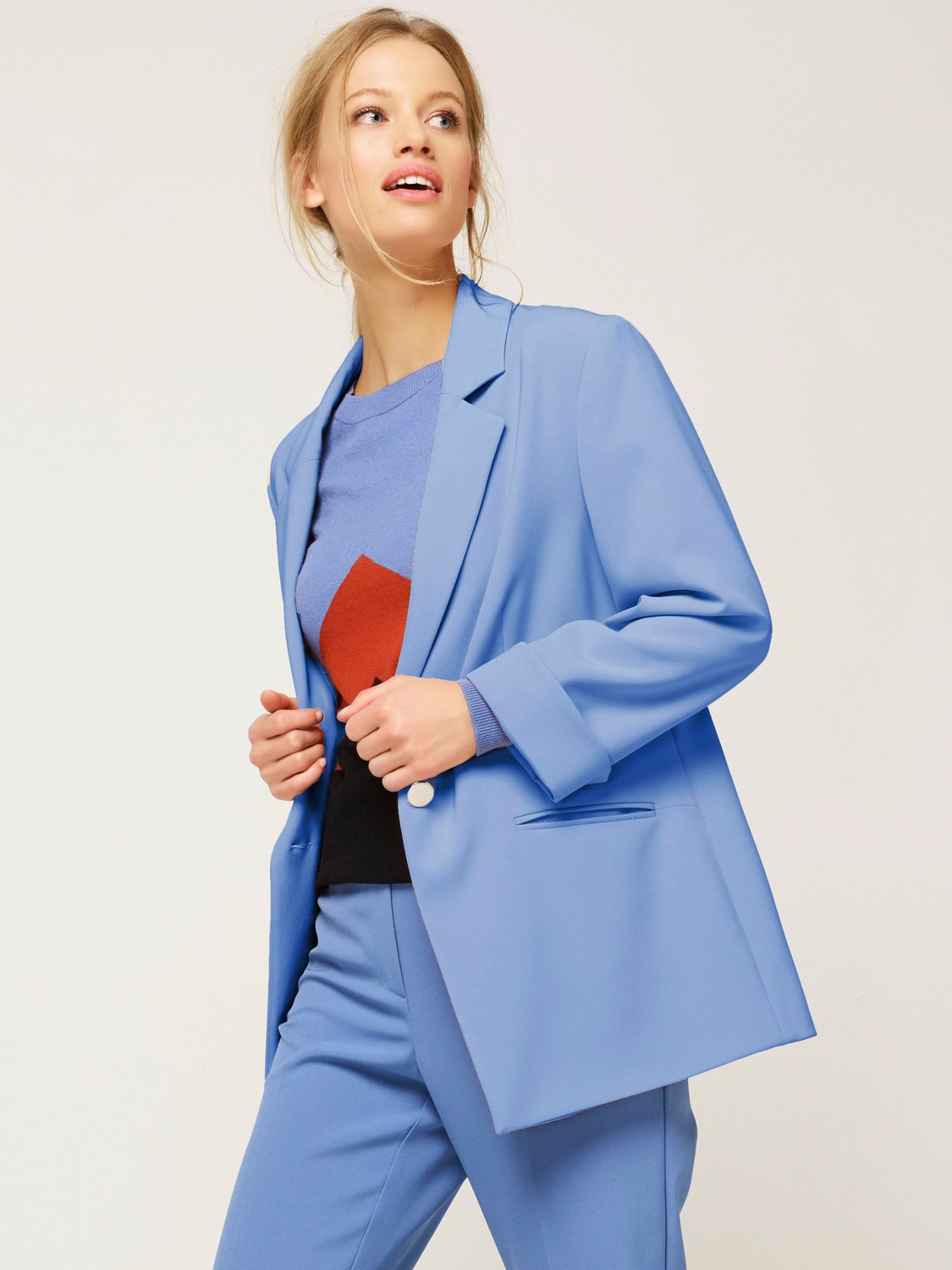 Women's Outerwear Women's Ladies coloured blazer jacket