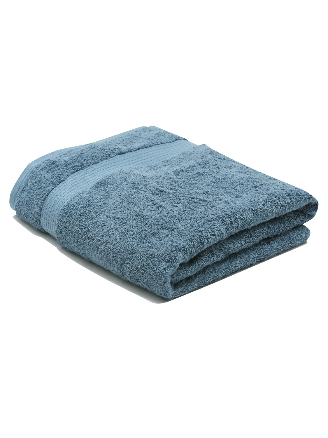 Image of 100% Combed Cotton 580Gsm Luxury Soft And Absorbent Bath Sheet - Petrol Blue
