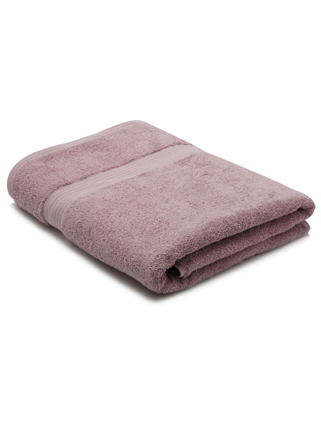 Image of 100% Combed Cotton 580Gsm Luxury Soft And Absorbent Bath Sheet - Amethyst