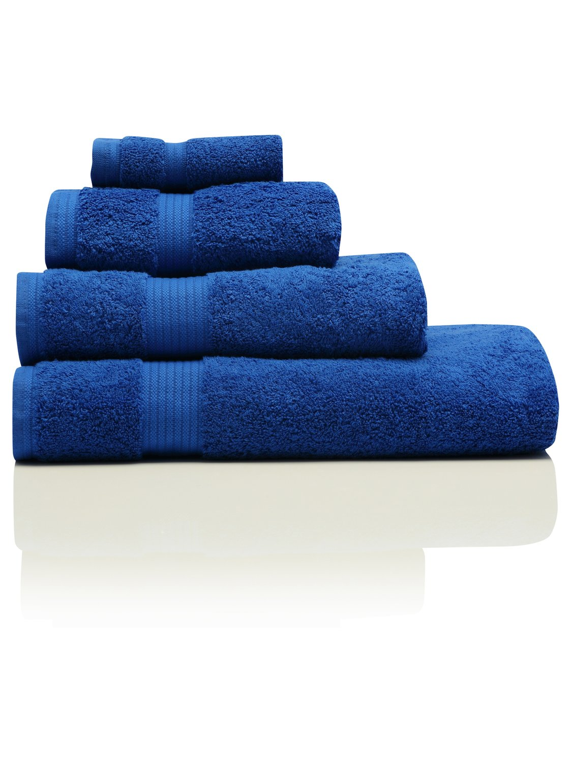Image of 100% Combed Cotton 580Gsm Luxury Soft And Absorbent Bath Sheet - Cobalt
