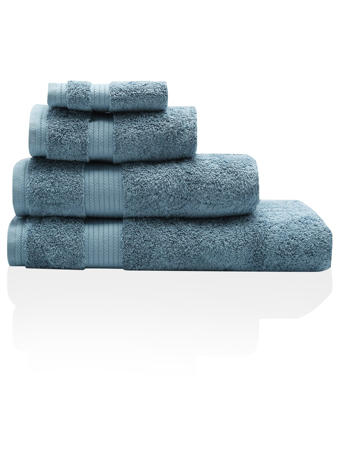 100% Combed Cotton 580Gsm Soft And Absorbent Bathroom Facecloth - Petrol Blue