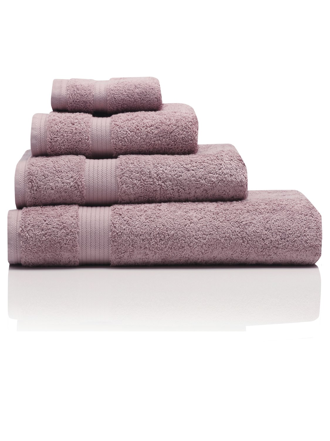 100% Combed Cotton 580Gsm Soft And Absorbent Bathroom Facecloth - Amethyst