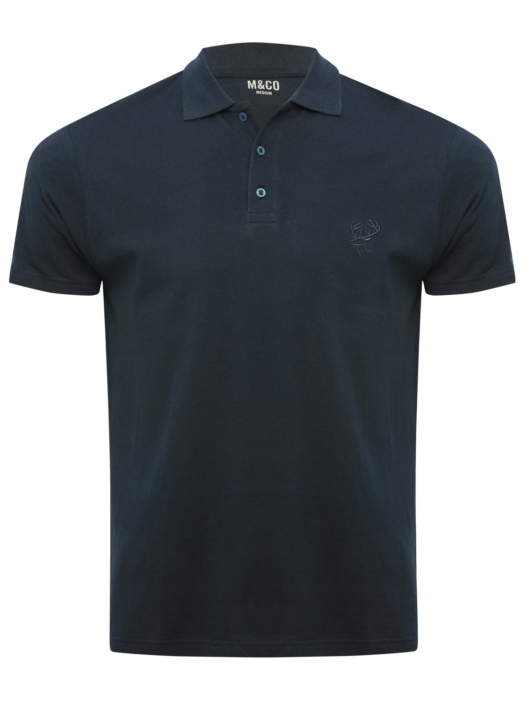 Plain Polo Shirt - Navy
