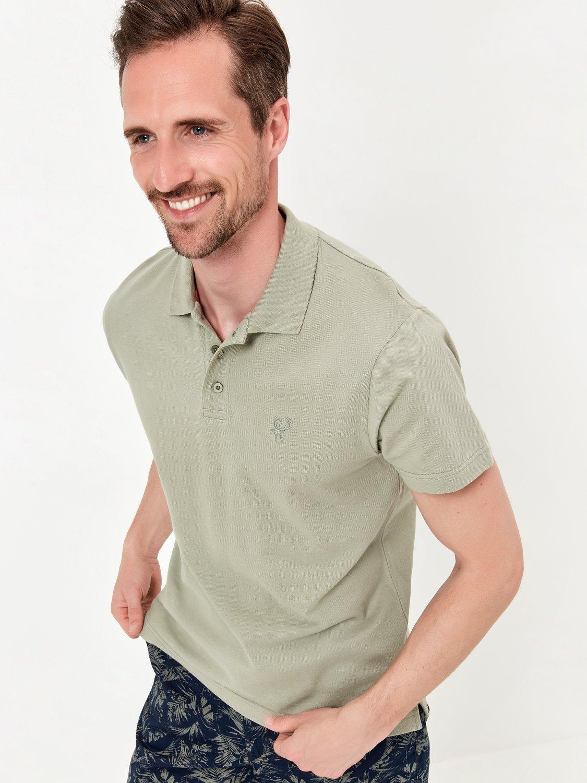 Plain Polo Shirt - Green