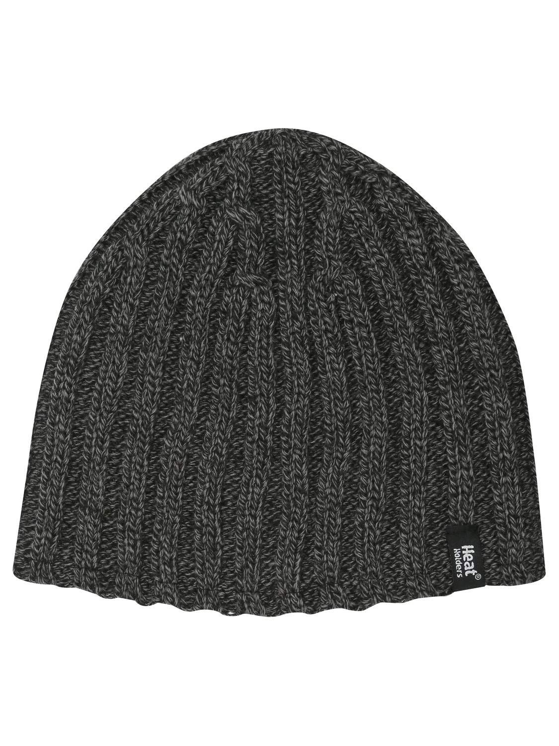Heat Holders twist knit winter insulated thermal beanie hat   Charcoal
