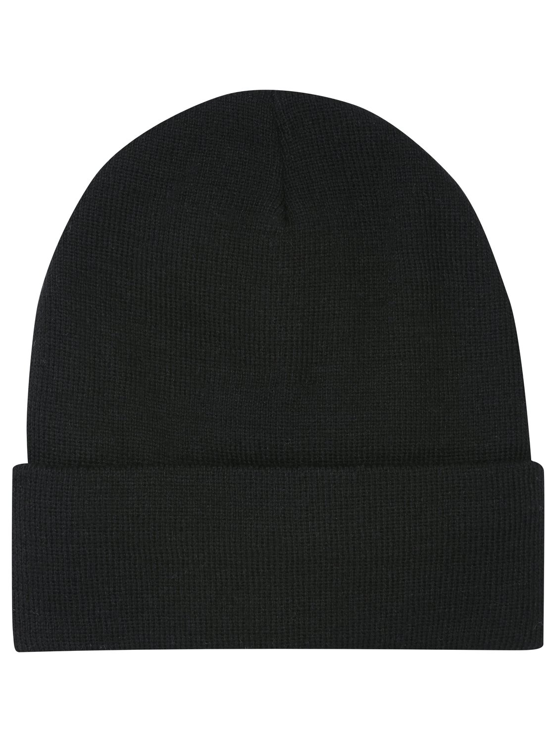 b545a36ed8d2f Mens thermal plain knitted beanie hat with thinsulate lining cold weather  winter hat - Black