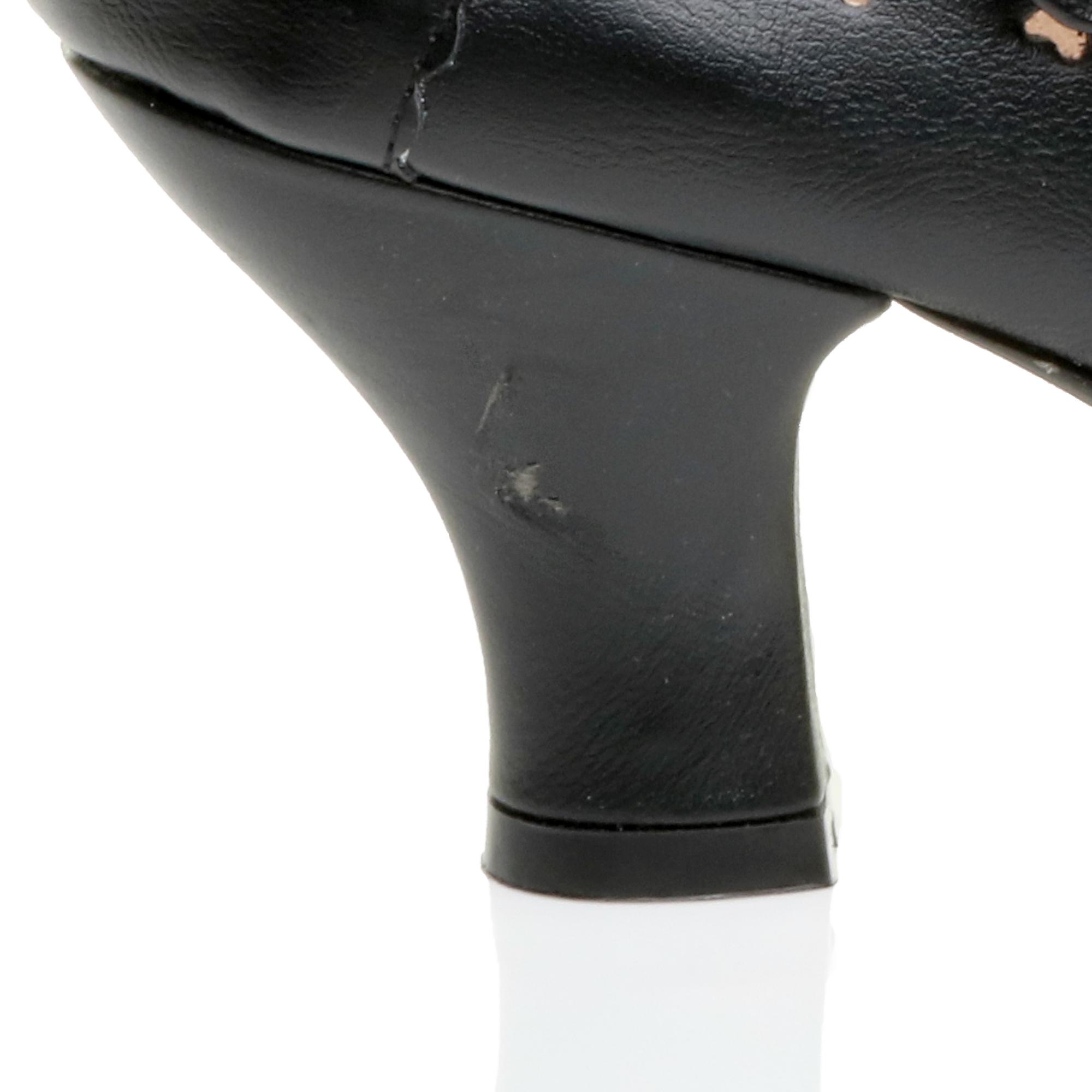miniatura 8 - Da Donna con Tacco Basso Cinturino Alla Caviglia Mary Jane Stile Scarpe Eleganti Lavoro Pompe Dimensione