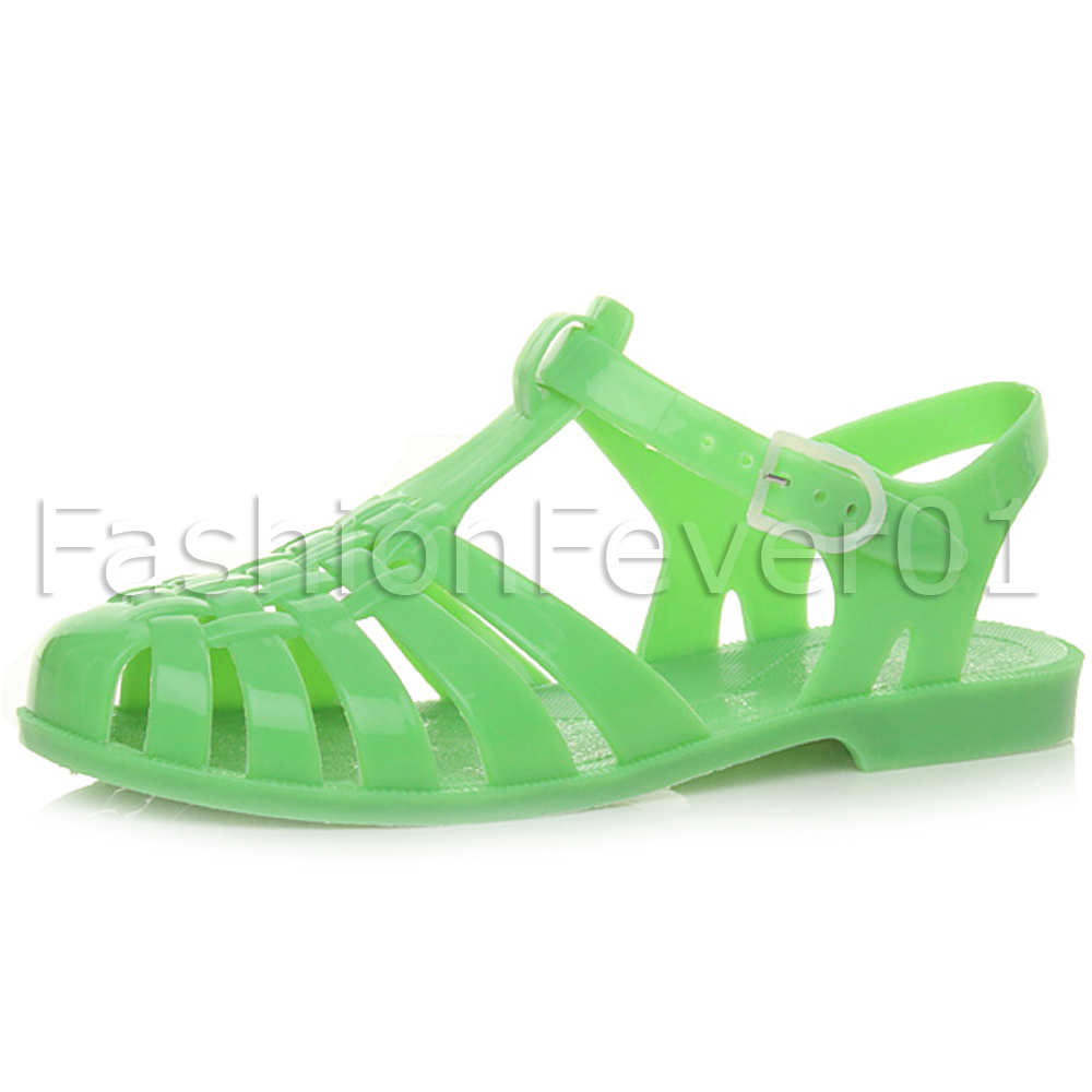 Jelly Rubber Flat Shoes