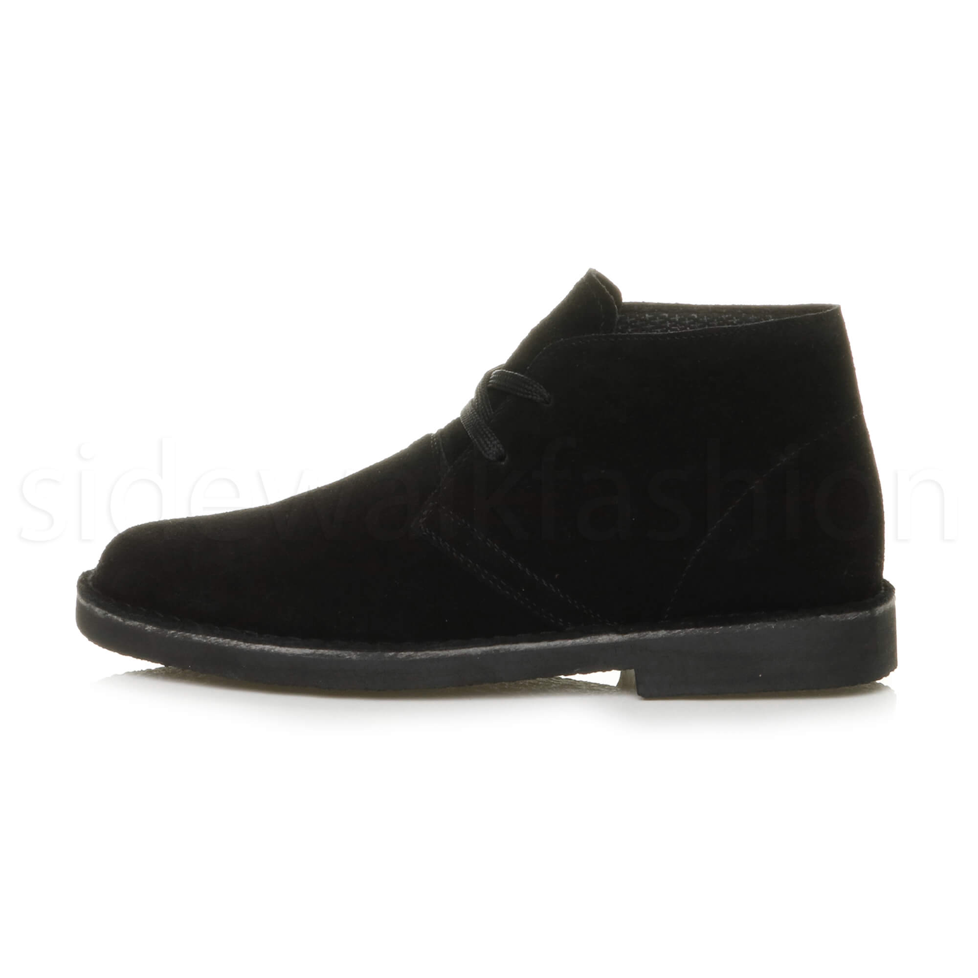 Mens-lace-up-rubber-sole-suede-ankle-chukka-desert-boots-classic-shoes-size thumbnail 3