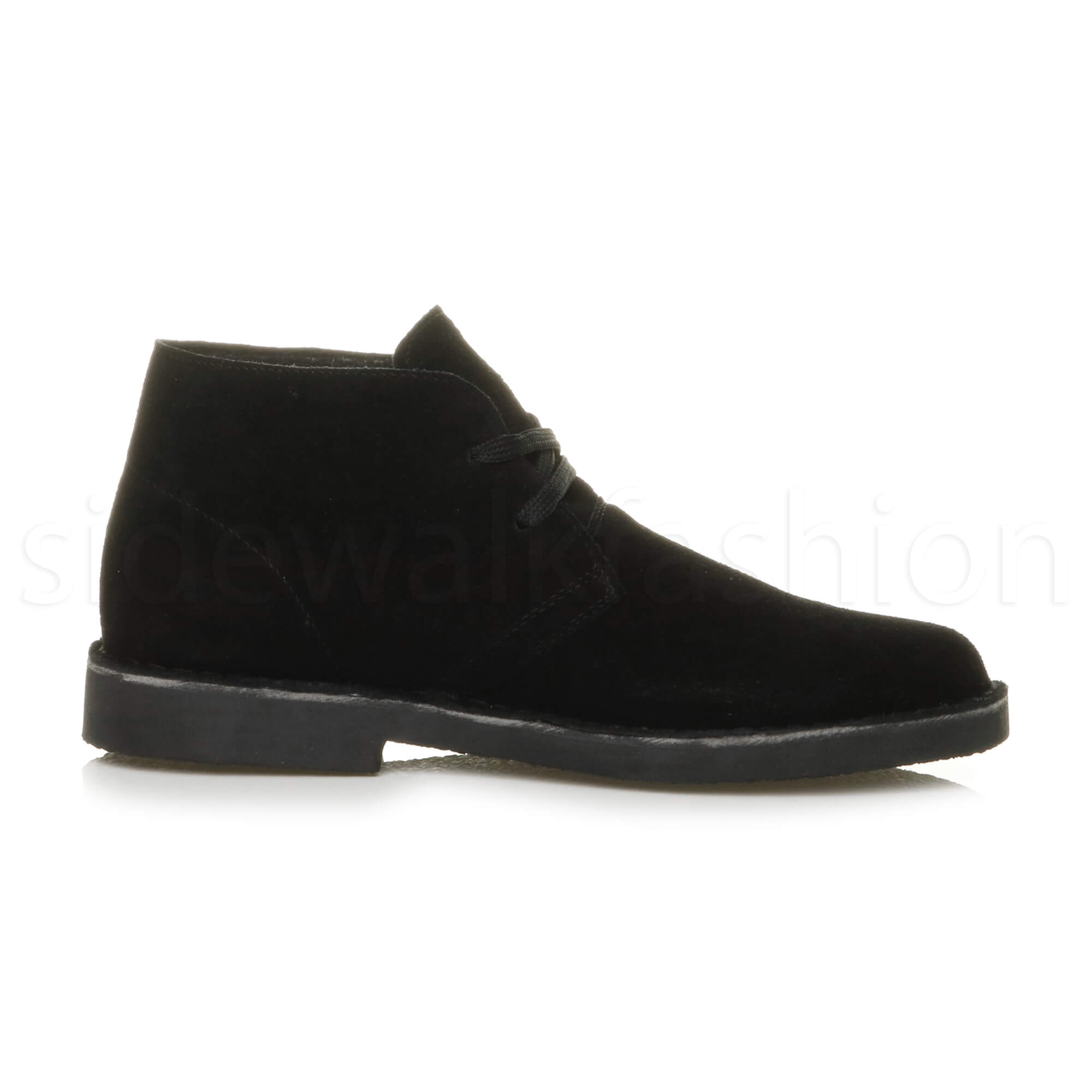 Mens-lace-up-rubber-sole-suede-ankle-chukka-desert-boots-classic-shoes-size thumbnail 4