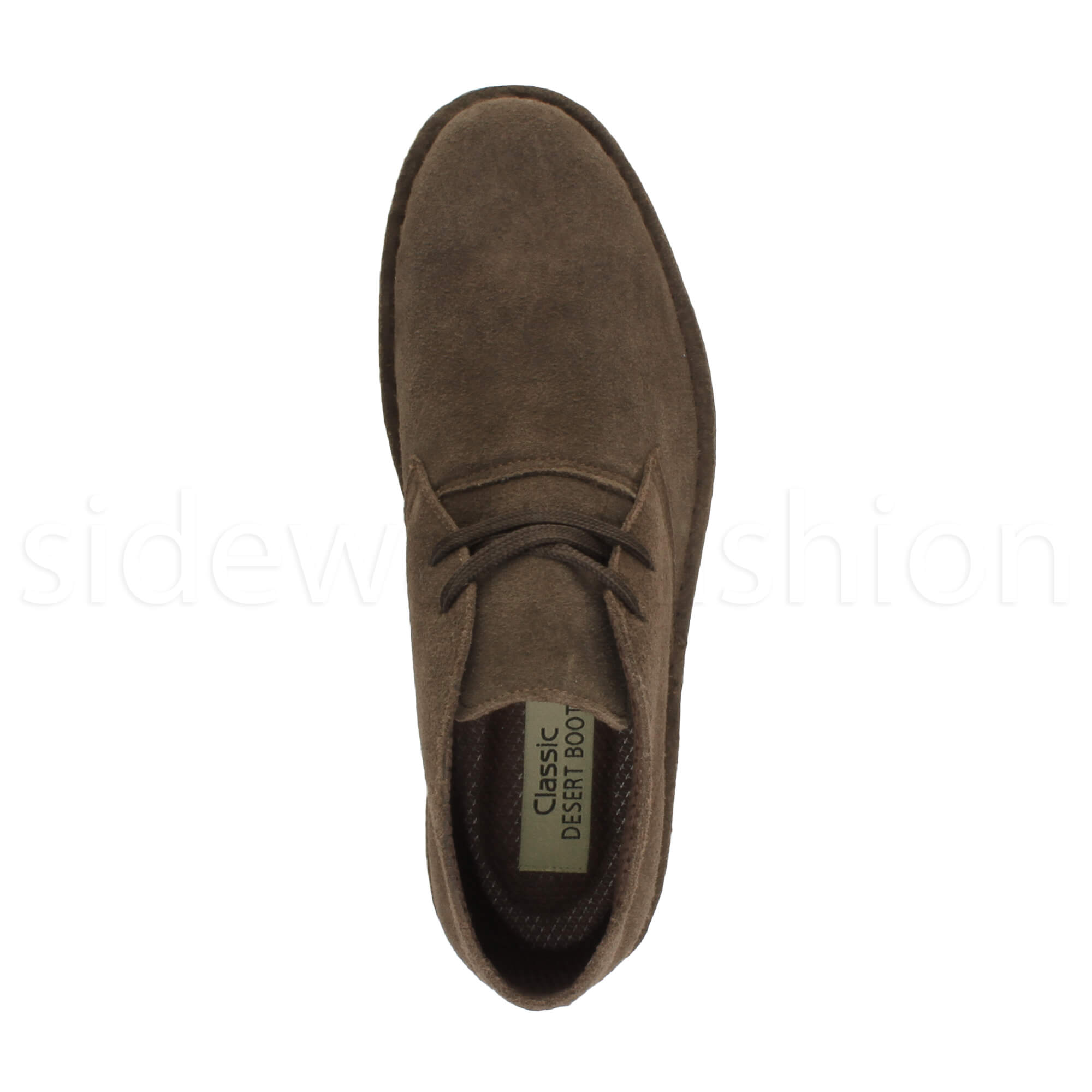 Mens-lace-up-rubber-sole-suede-ankle-chukka-desert-boots-classic-shoes-size thumbnail 14