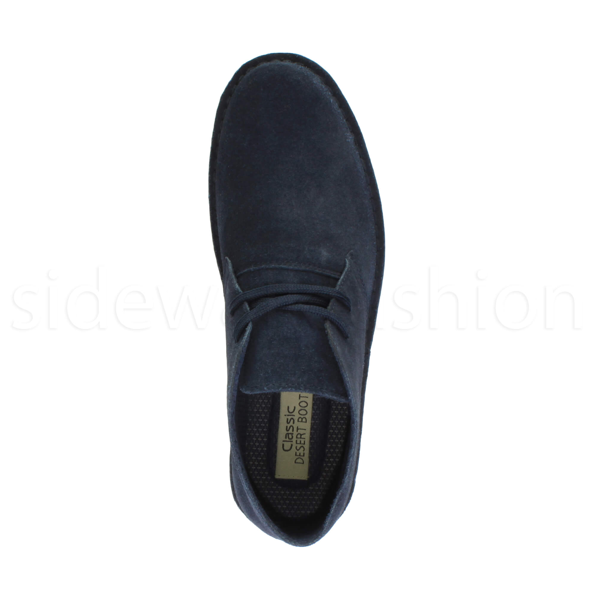 Mens-lace-up-rubber-sole-suede-ankle-chukka-desert-boots-classic-shoes-size thumbnail 22