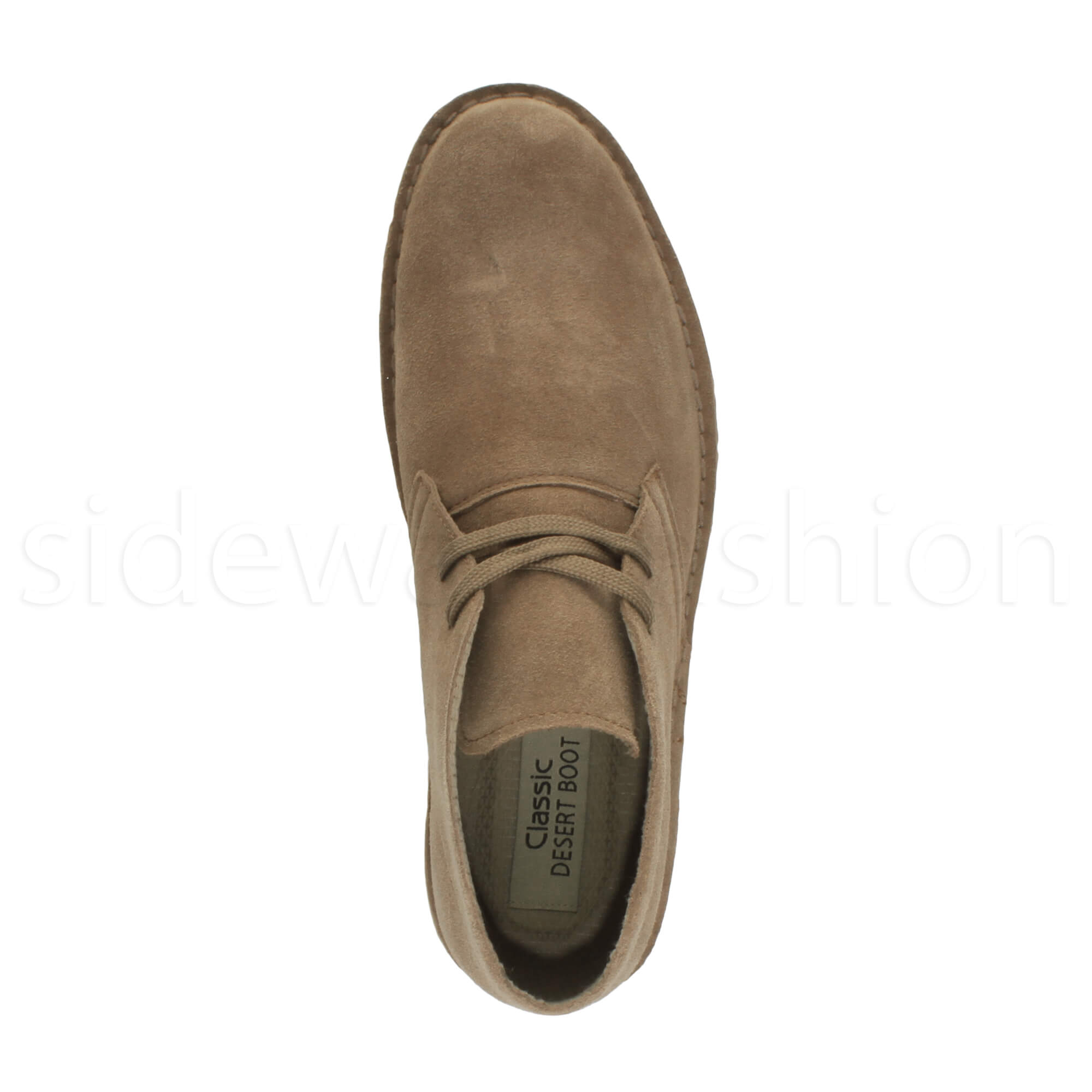 Mens-lace-up-rubber-sole-suede-ankle-chukka-desert-boots-classic-shoes-size thumbnail 36