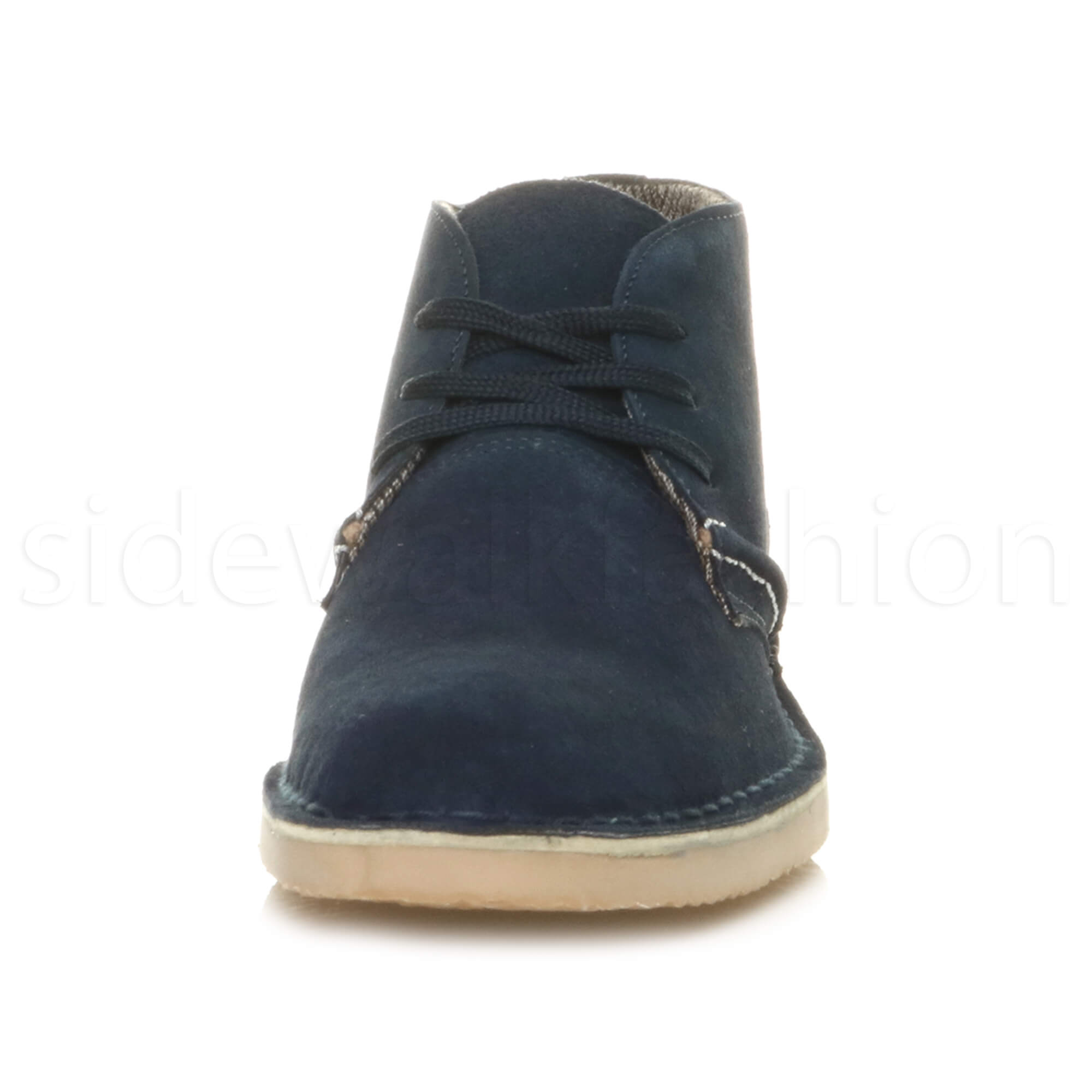 Mens-lace-up-rubber-sole-suede-ankle-chukka-desert-boots-classic-shoes-size thumbnail 28