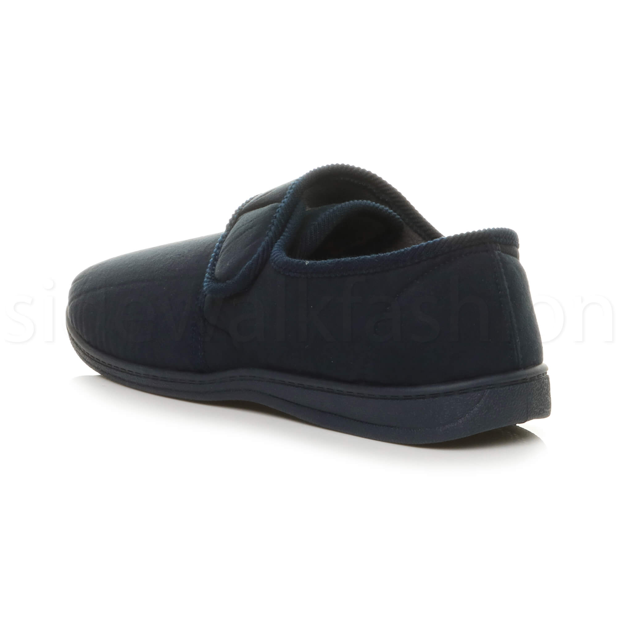 MENS-TOUCH-CLOSE-COMFORT-DIABETIC-ORTHOPAEDIC-SLIPPERS-INDOOR-HOUSE-SHOES-SIZE miniatuur 21