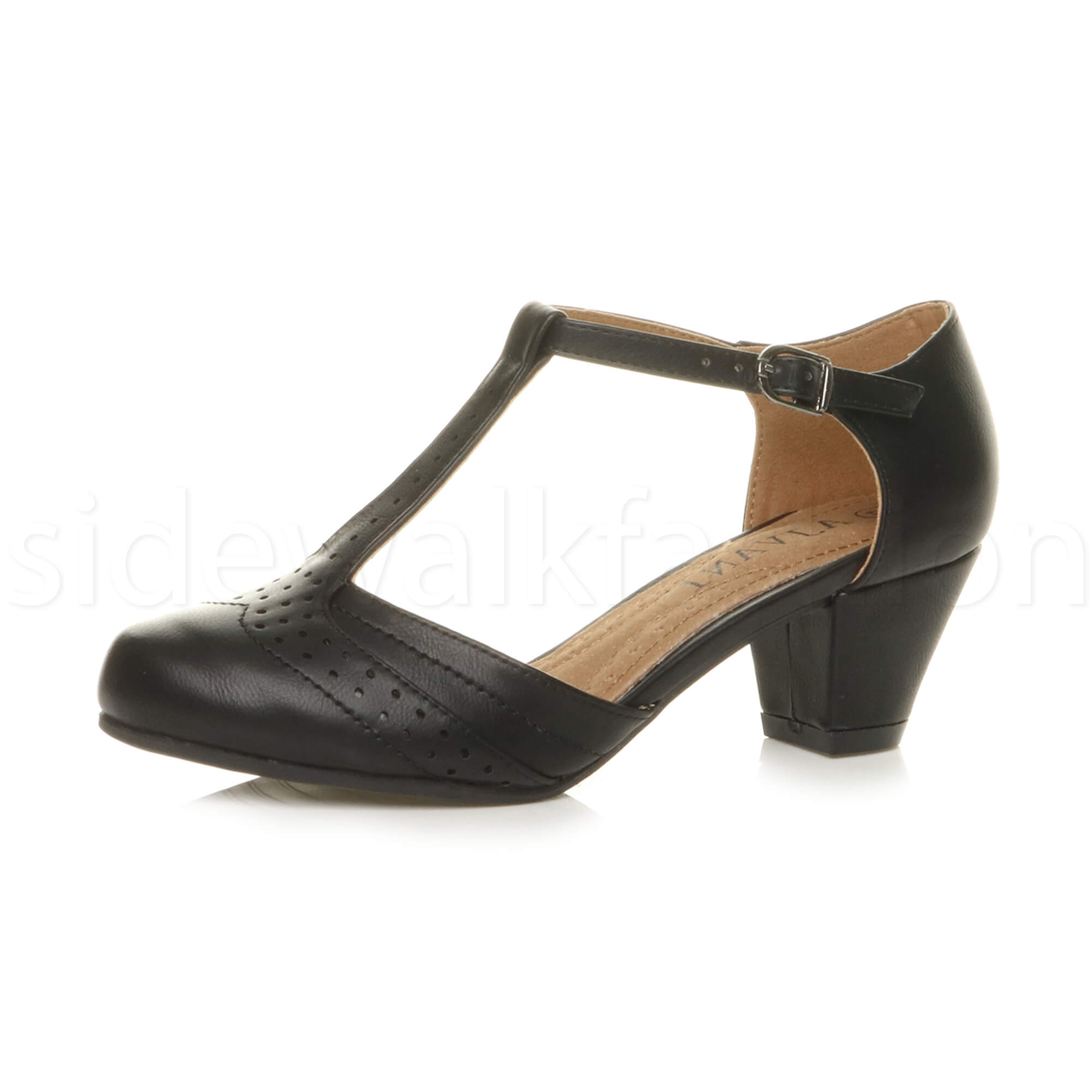 Black T Bar Mary Jane Shoes