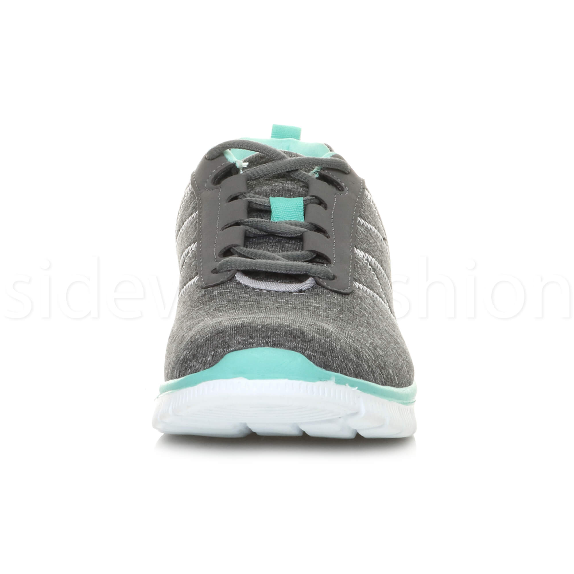 Womens-ladies-comfort-memory-foam-lace-up-trainers-activewear-sneakers-gym-shoes thumbnail 49