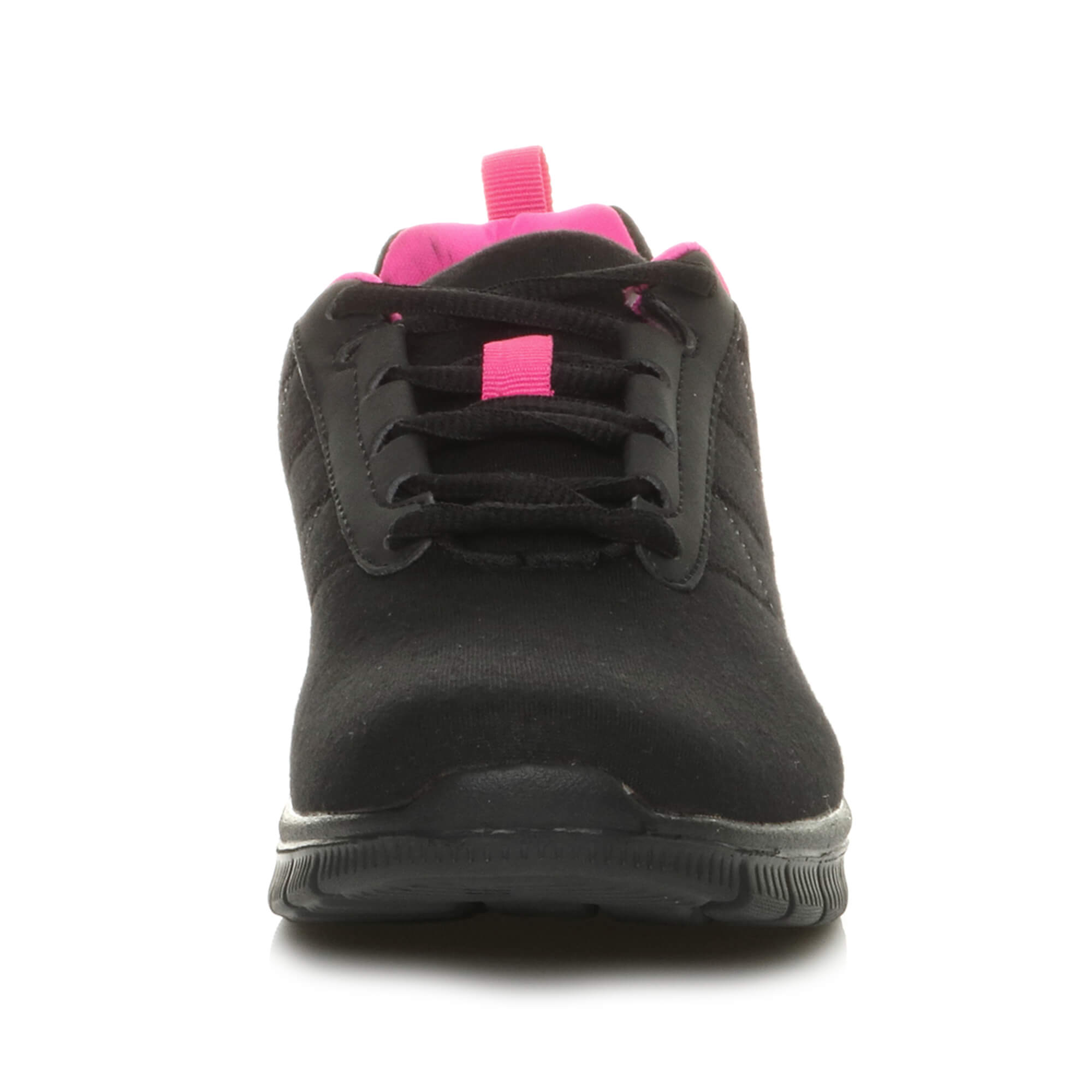 Womens-ladies-comfort-memory-foam-lace-up-trainers-activewear-sneakers-gym-shoes thumbnail 7