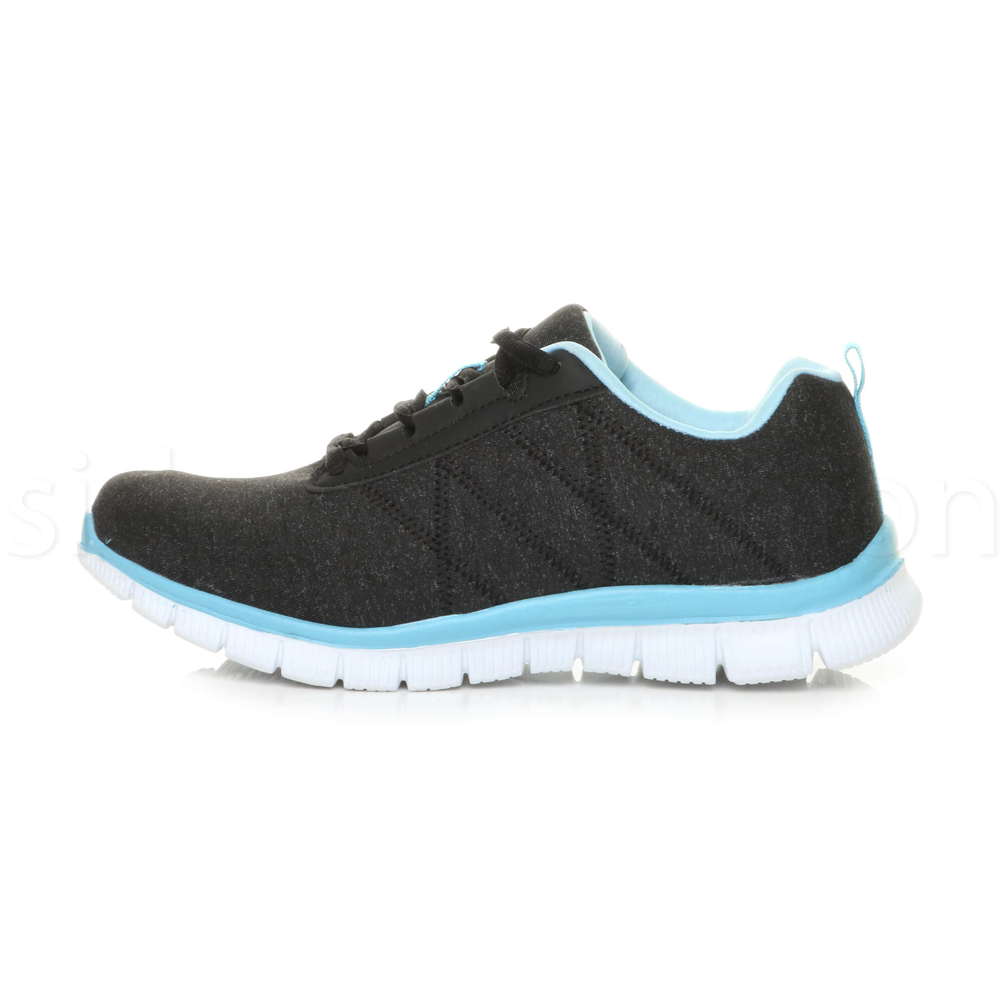 Womens-ladies-comfort-memory-foam-lace-up-trainers-activewear-sneakers-gym-shoes thumbnail 9
