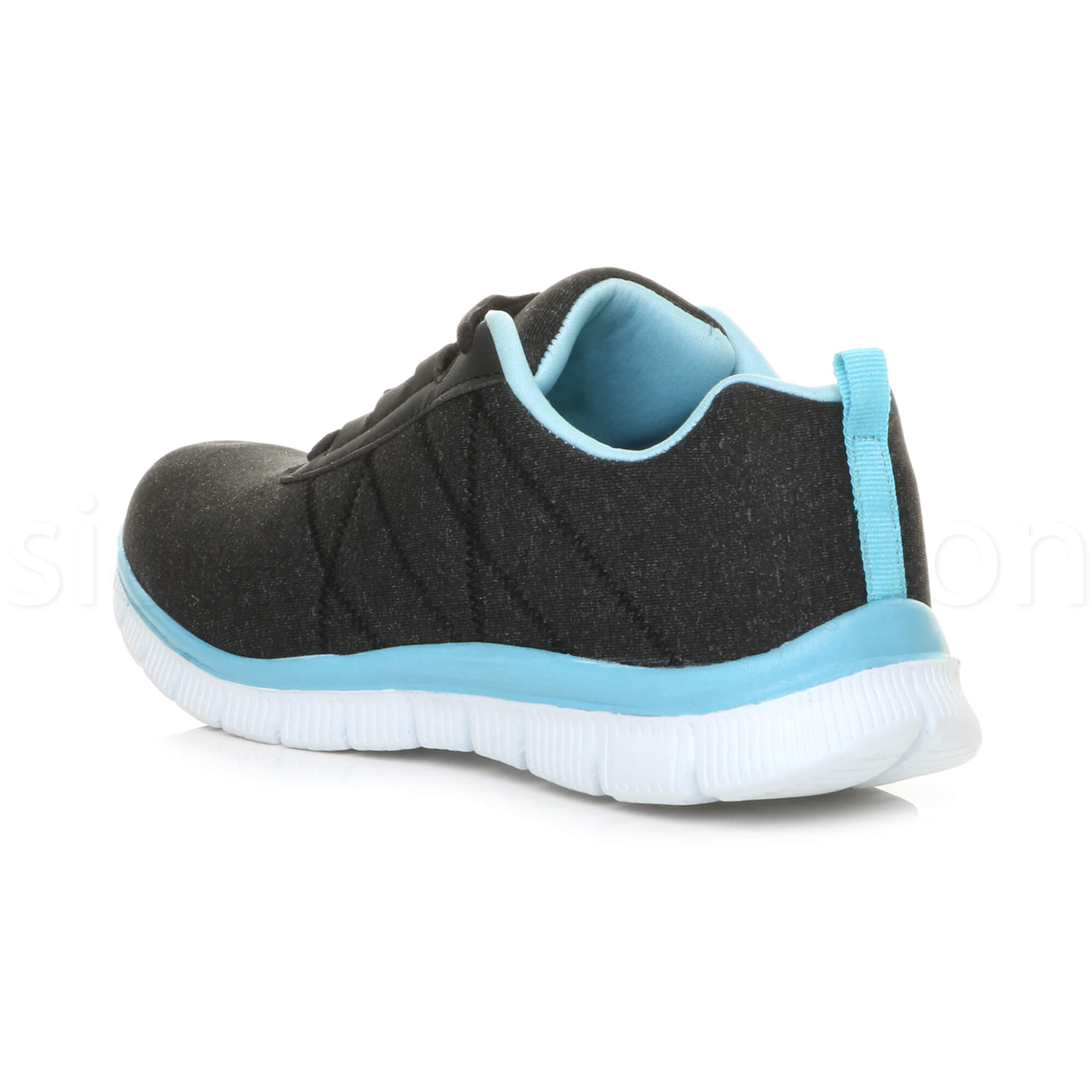 Womens-ladies-comfort-memory-foam-lace-up-trainers-activewear-sneakers-gym-shoes thumbnail 11
