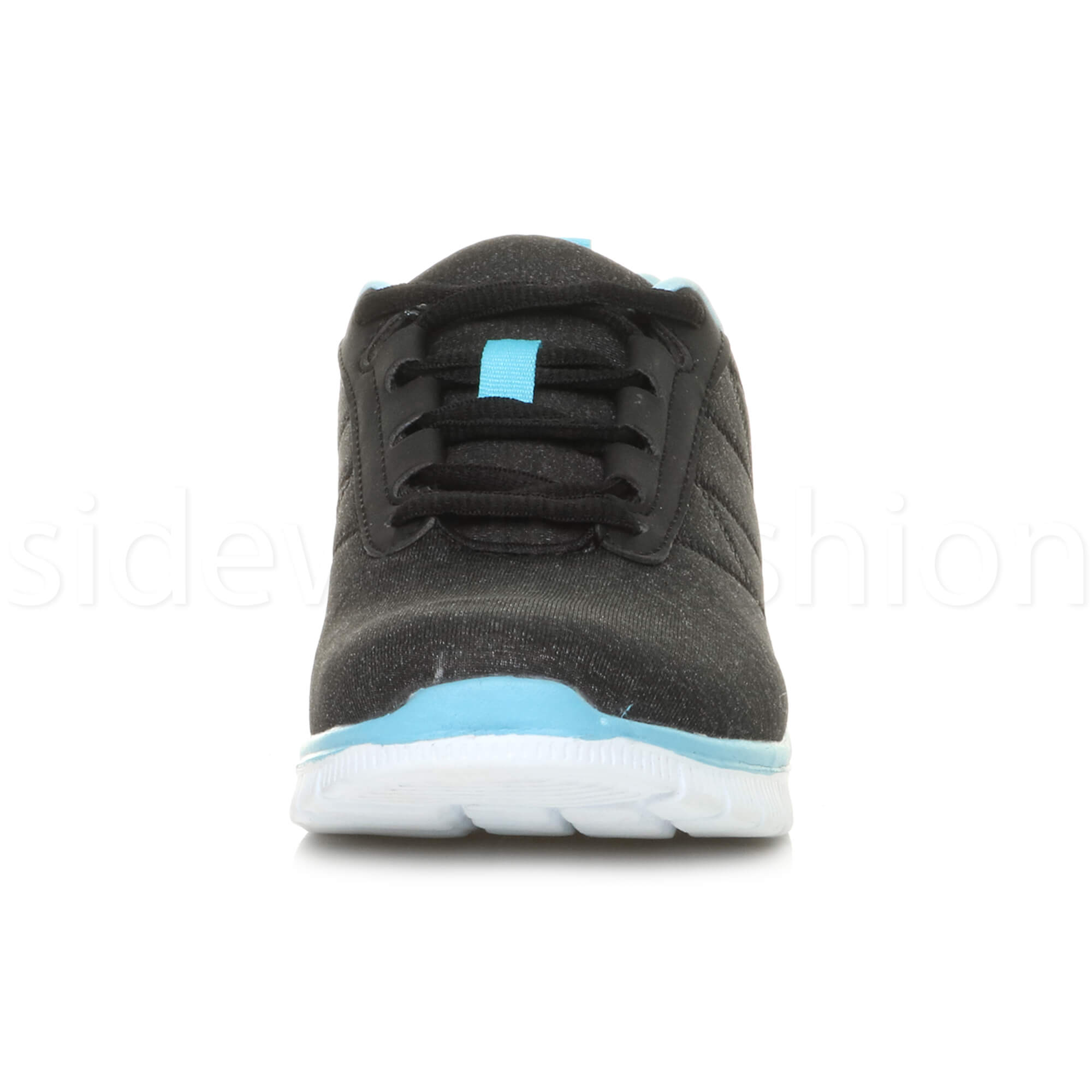 Womens-ladies-comfort-memory-foam-lace-up-trainers-activewear-sneakers-gym-shoes thumbnail 13