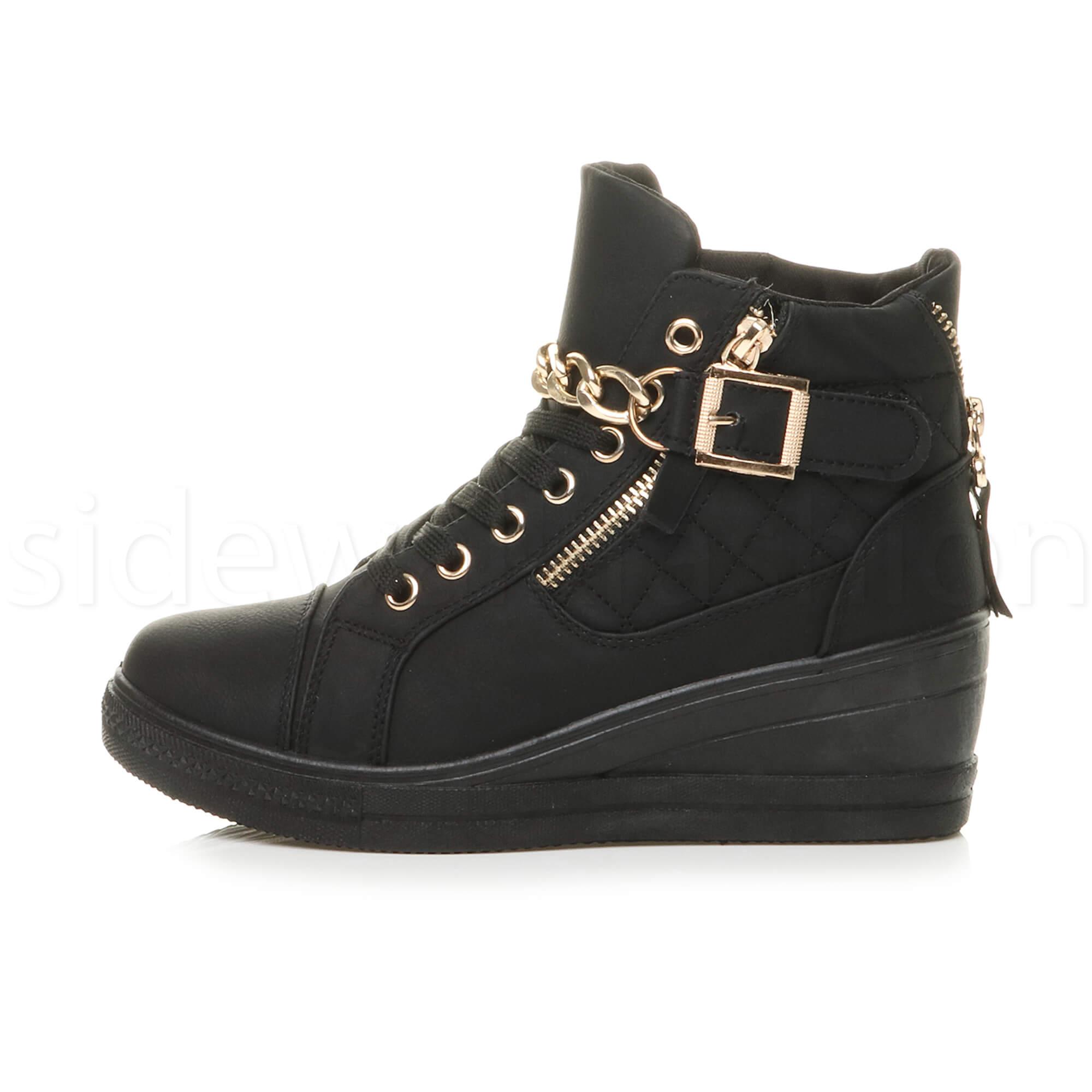 Ladies Platform Wedge Shoes