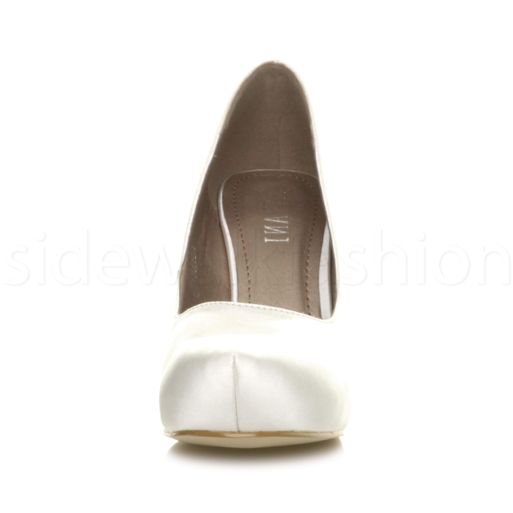 Womens-ladies-low-mid-heel-concealed-platform-work-party-court-shoes-pumps-size thumbnail 164