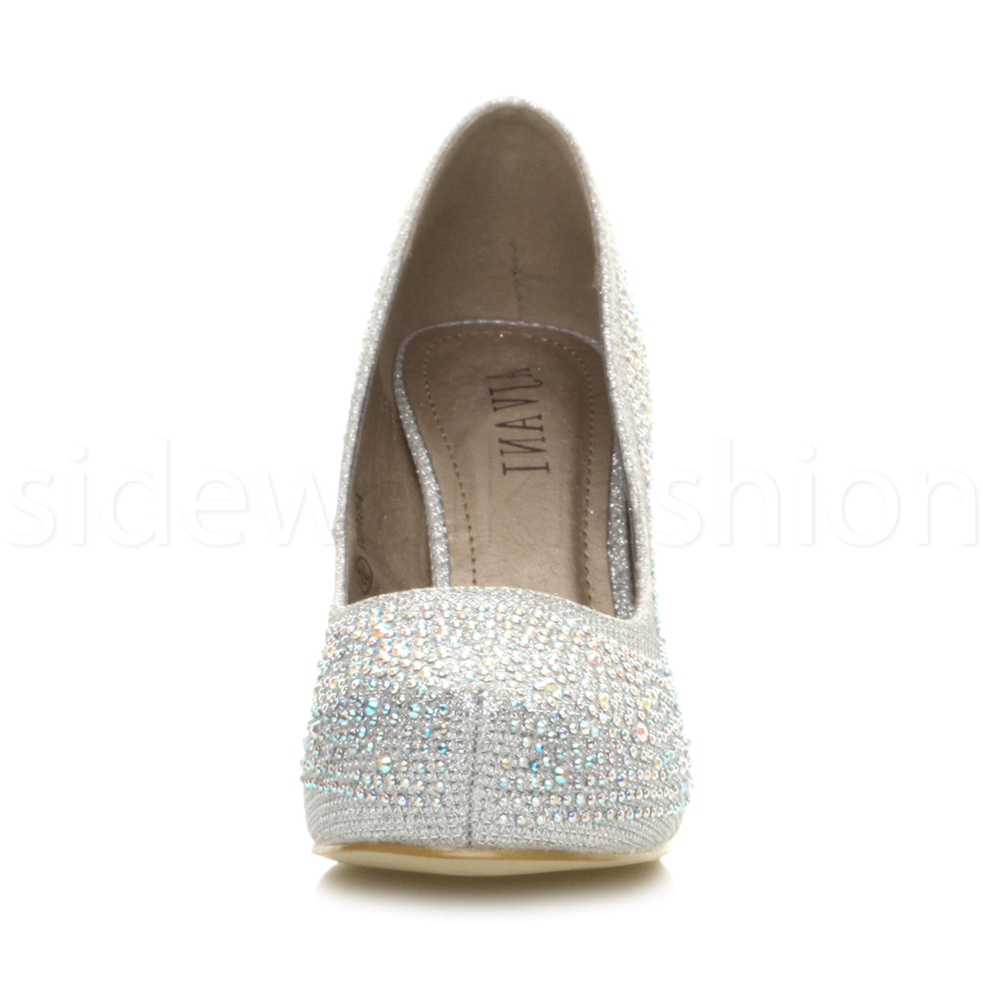 Womens-ladies-low-mid-heel-concealed-platform-work-party-court-shoes-pumps-size thumbnail 113