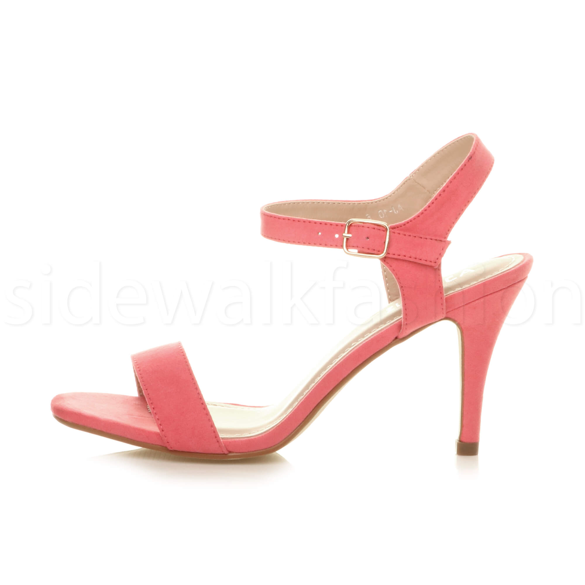 438db952ff94 Womens high heel ladies strappy evening prom simple party shoes ...