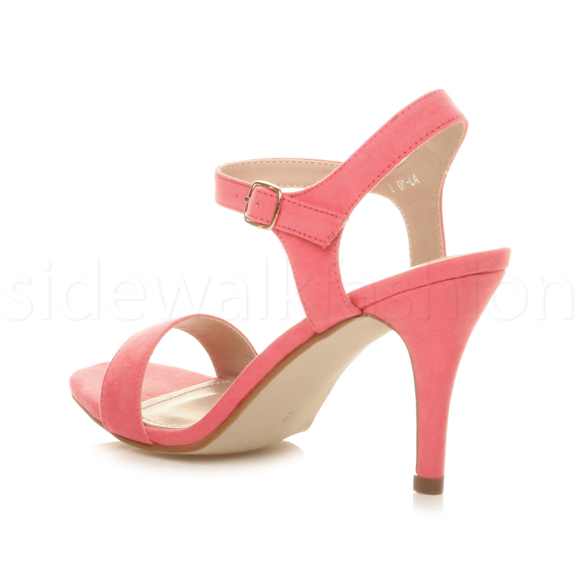 De Fiesta Zapatos Señoras Para Graduación Noche Alto Mujer Tacón LjA34c5Rq