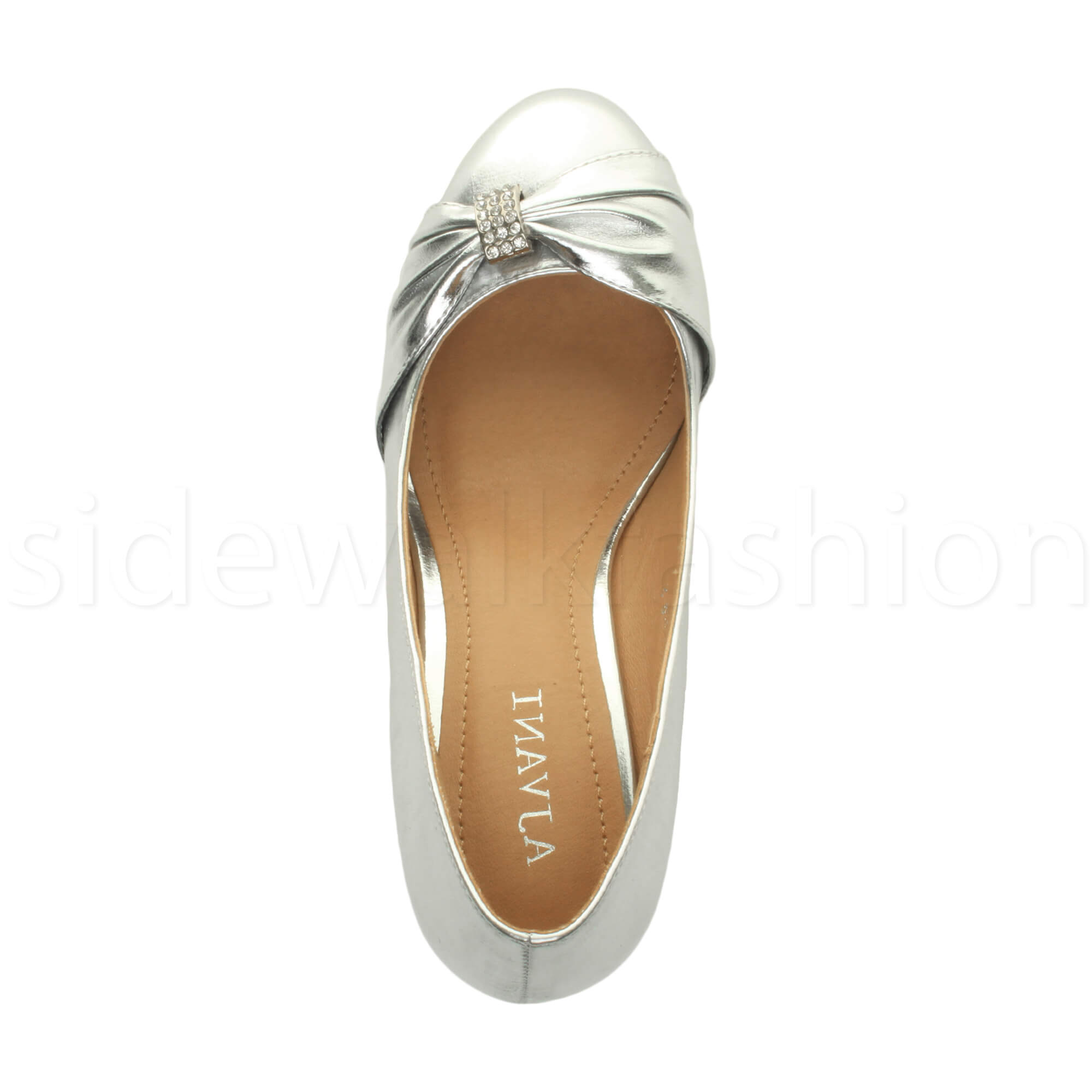 Womens-ladies-low-mid-heel-diamante-party-smart-evening-court-shoes-size thumbnail 88