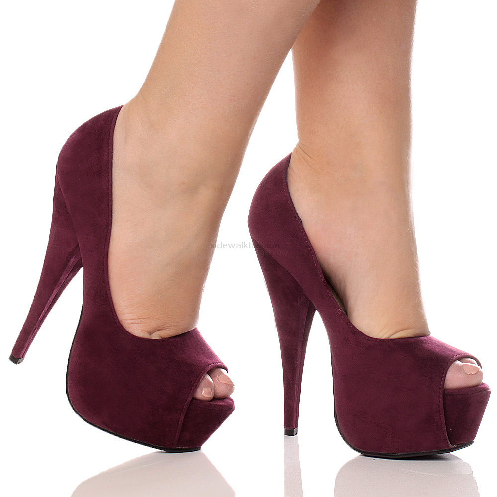 Ladies Peep Toe Shoes