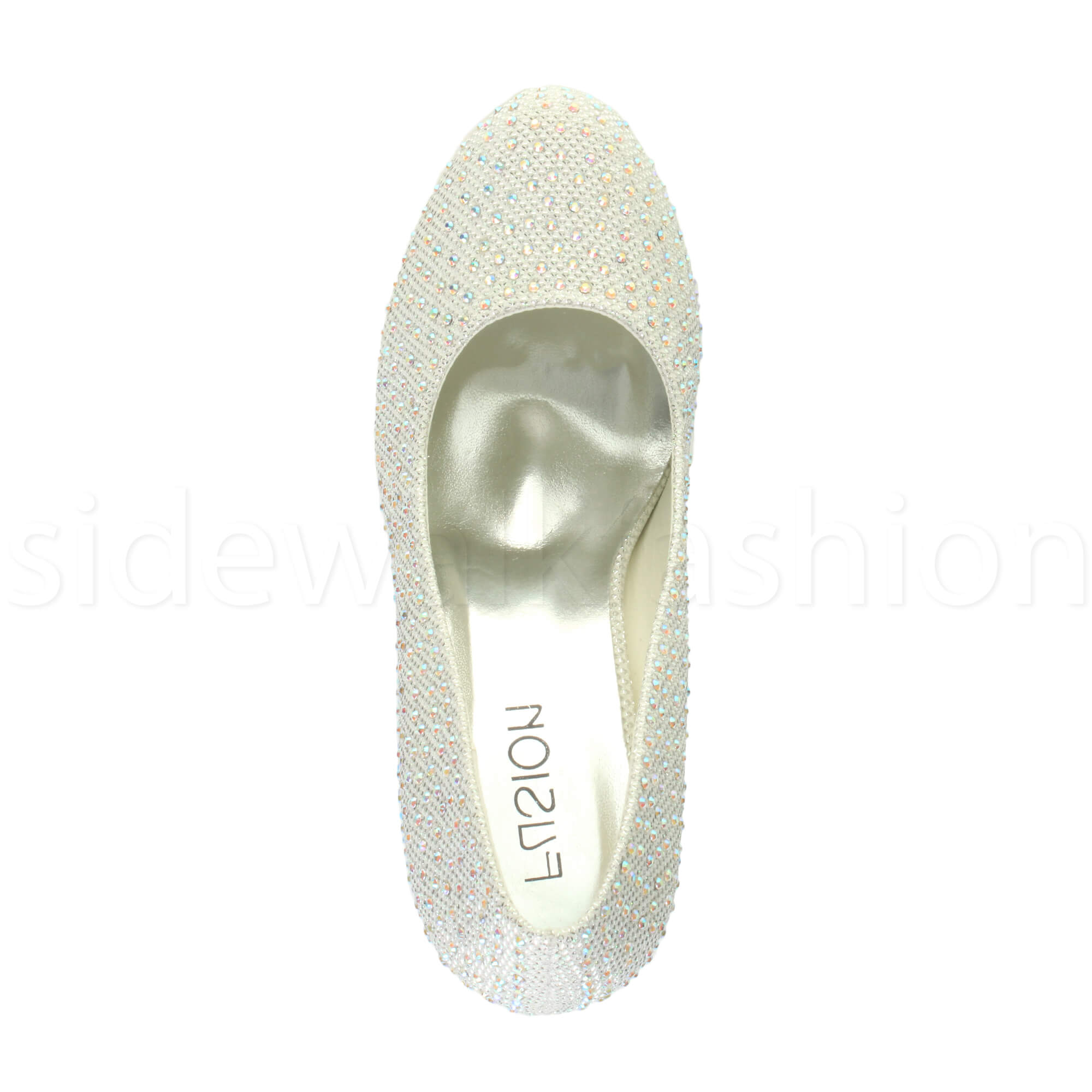 Womens-ladies-high-mid-heel-platform-wedding-evening-bridesmaid-court-shoes-size thumbnail 91