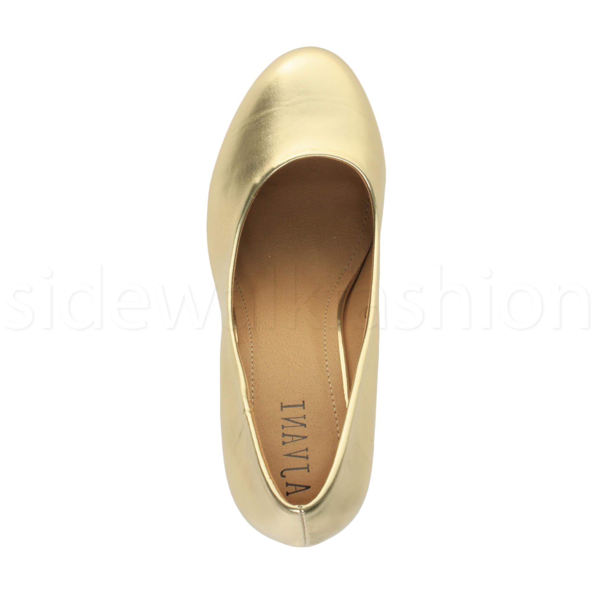 Womens-ladies-high-mid-heel-platform-wedding-evening-bridesmaid-court-shoes-size thumbnail 63
