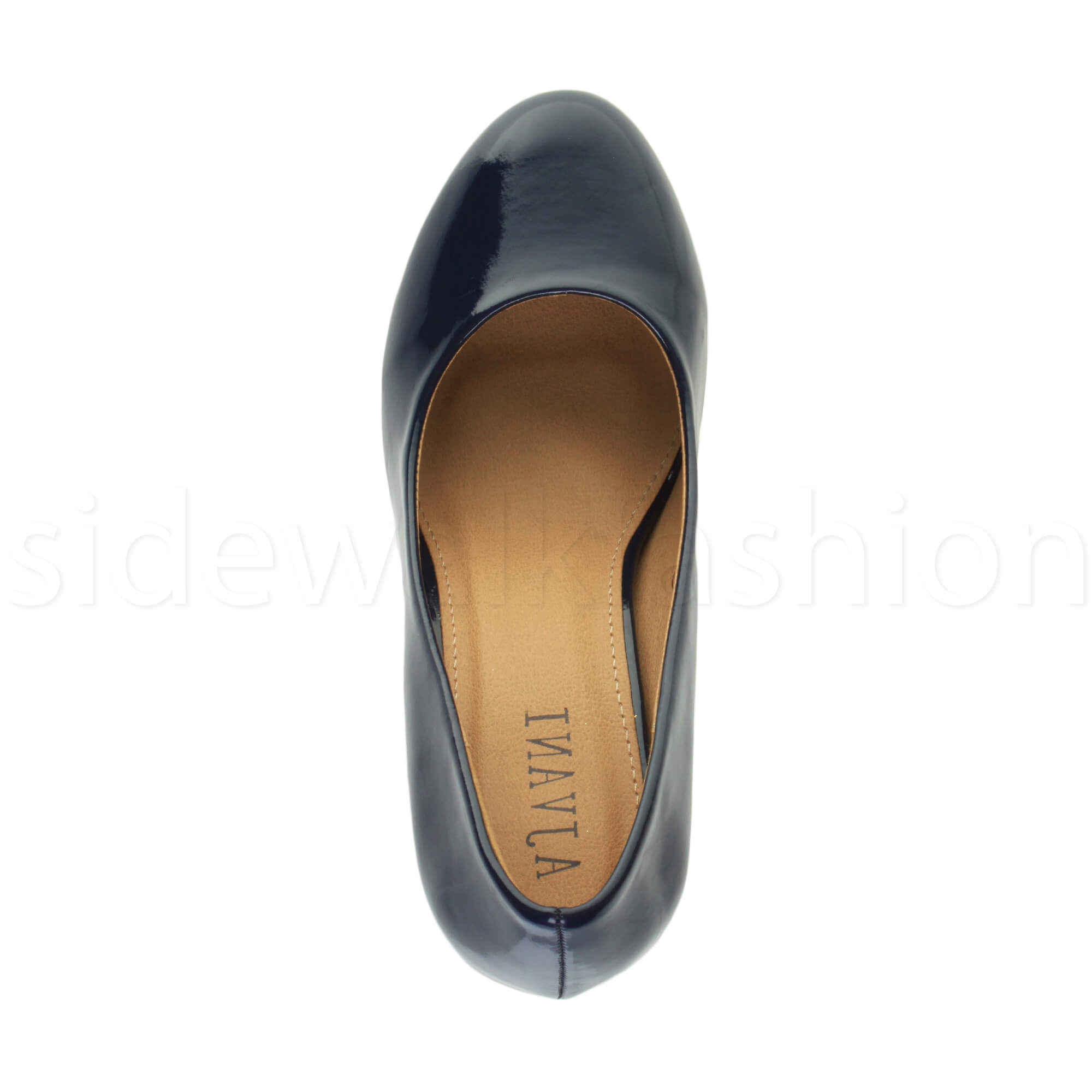 Womens-ladies-high-mid-heel-platform-wedding-evening-bridesmaid-court-shoes-size thumbnail 112