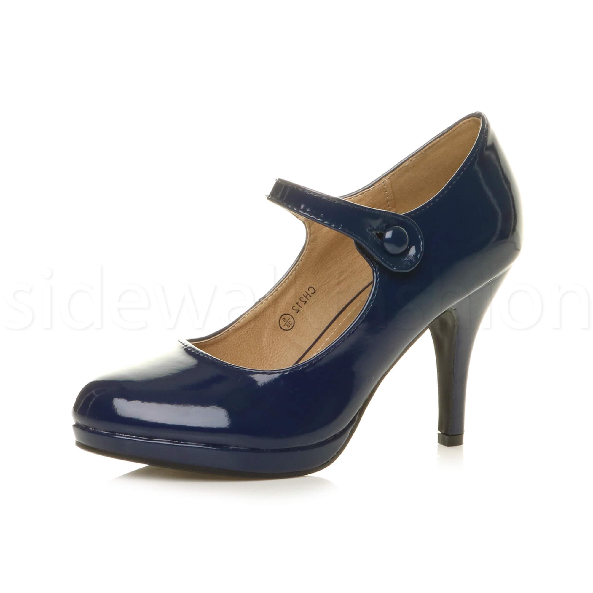 Size  Mary Jane Platform Shoes