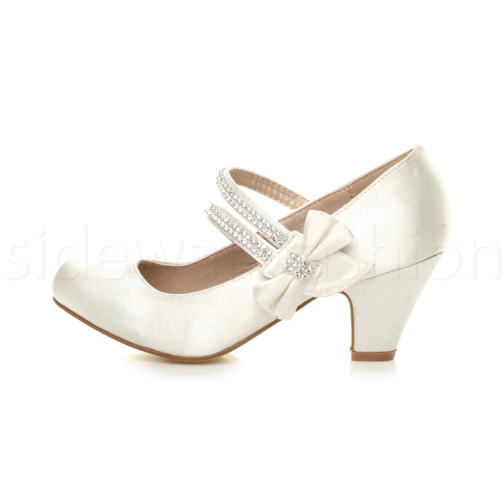 Court Heel Wedding Shoes
