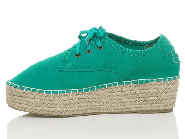 Womens-ladies-lace-up-platform-flatform-low-top-pumps-shoes-trainers-size