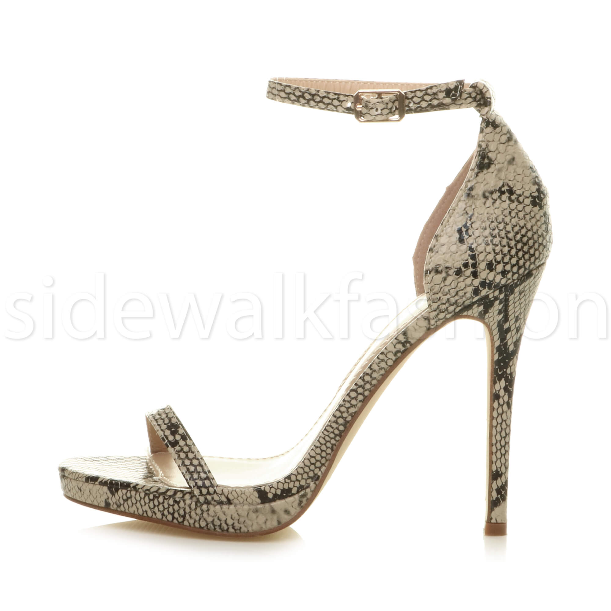 Womens-ladies-high-heel-barely-there-strappy-party-peep-toe-shoes-sandals-size thumbnail 3