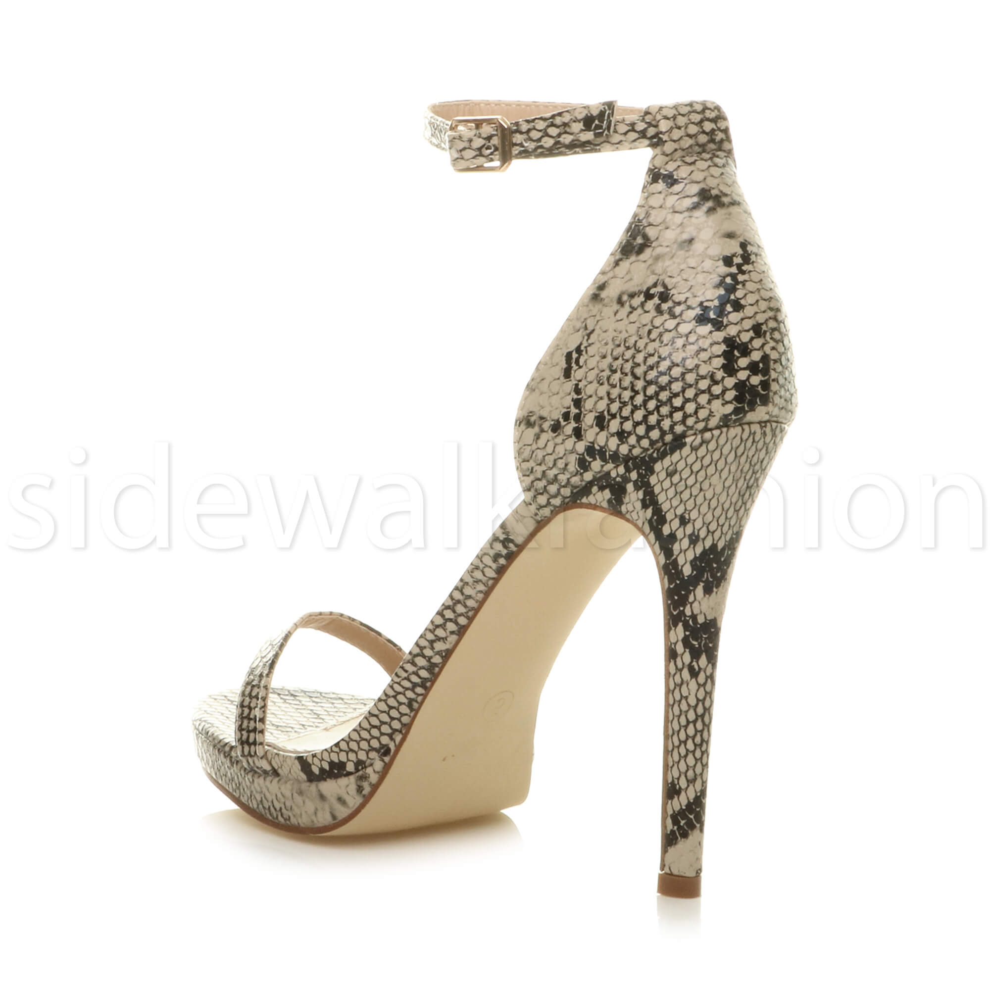 Womens-ladies-high-heel-barely-there-strappy-party-peep-toe-shoes-sandals-size thumbnail 5