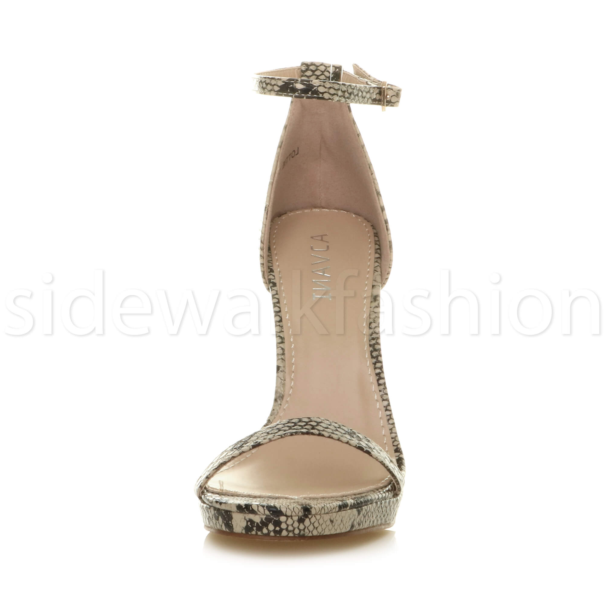 Womens-ladies-high-heel-barely-there-strappy-party-peep-toe-shoes-sandals-size thumbnail 6