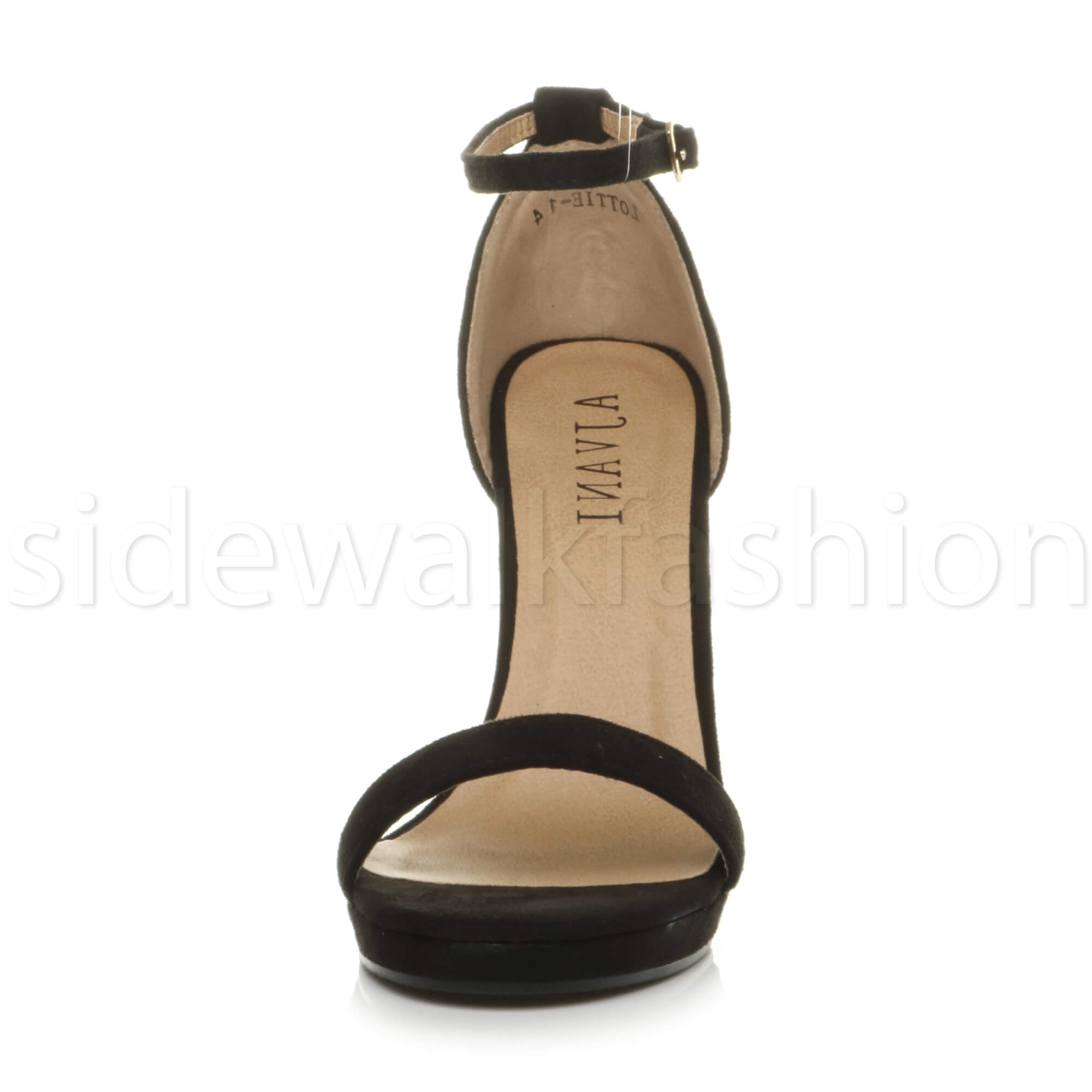 Womens-ladies-high-heel-barely-there-strappy-party-peep-toe-shoes-sandals-size thumbnail 26