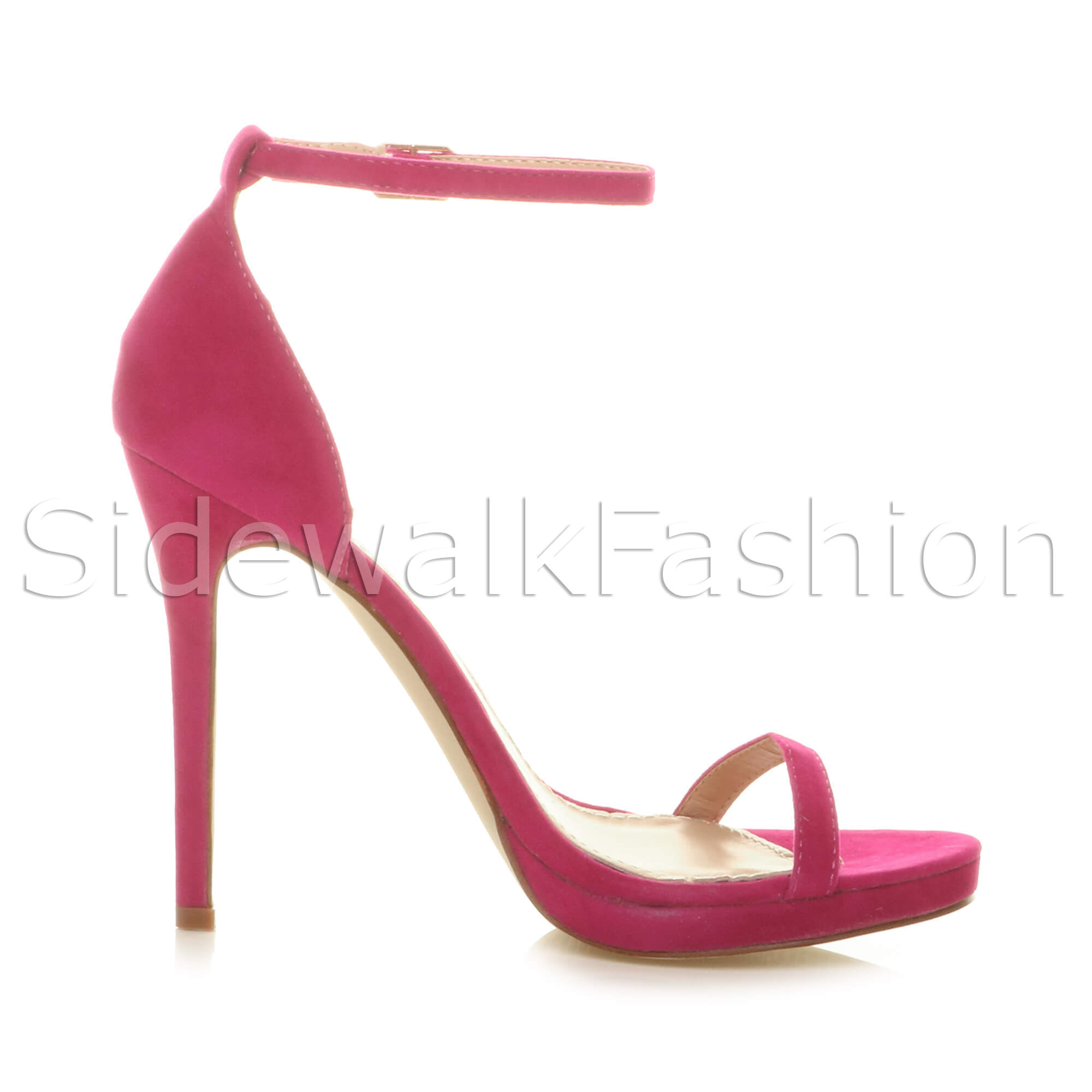 Womens-ladies-high-heel-barely-there-strappy-party-peep-toe-shoes-sandals-size thumbnail 38