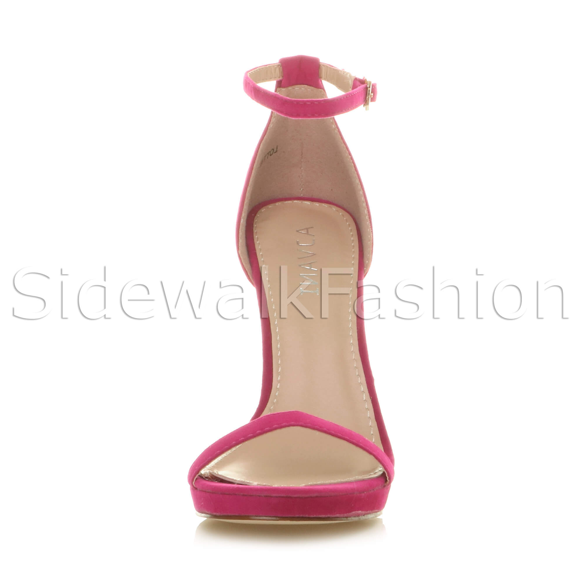 Womens-ladies-high-heel-barely-there-strappy-party-peep-toe-shoes-sandals-size thumbnail 40