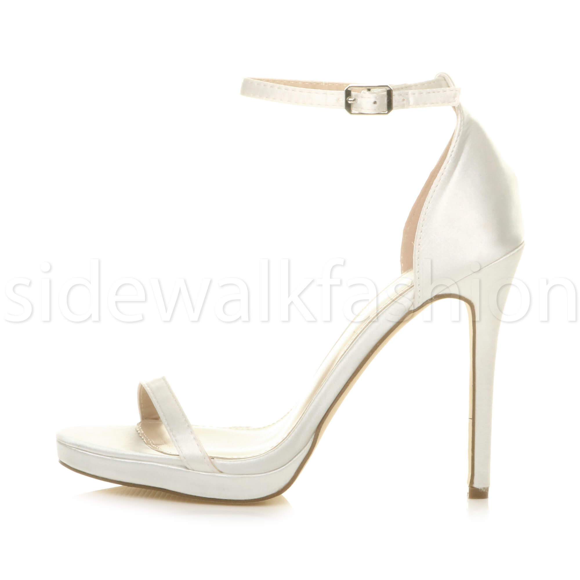 Womens-ladies-high-heel-barely-there-strappy-party-peep-toe-shoes-sandals-size thumbnail 51