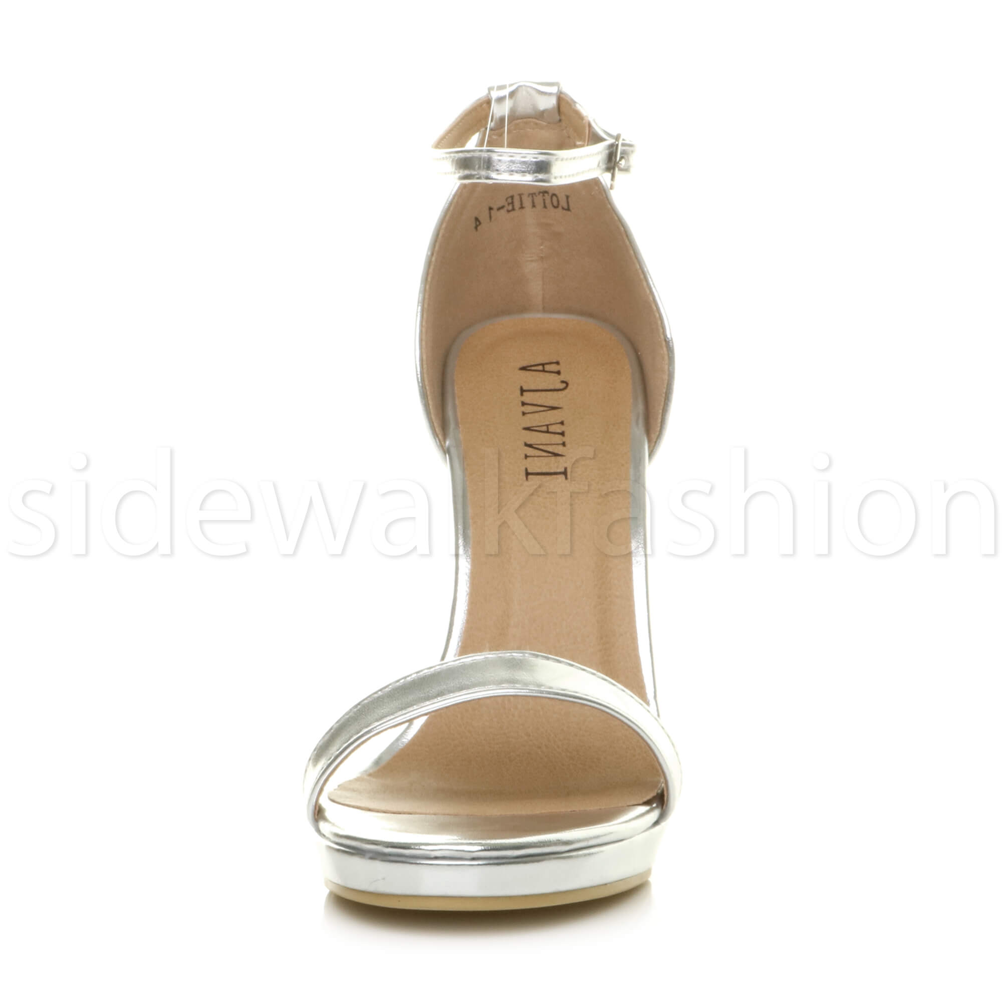 Womens-ladies-high-heel-barely-there-strappy-party-peep-toe-shoes-sandals-size thumbnail 123