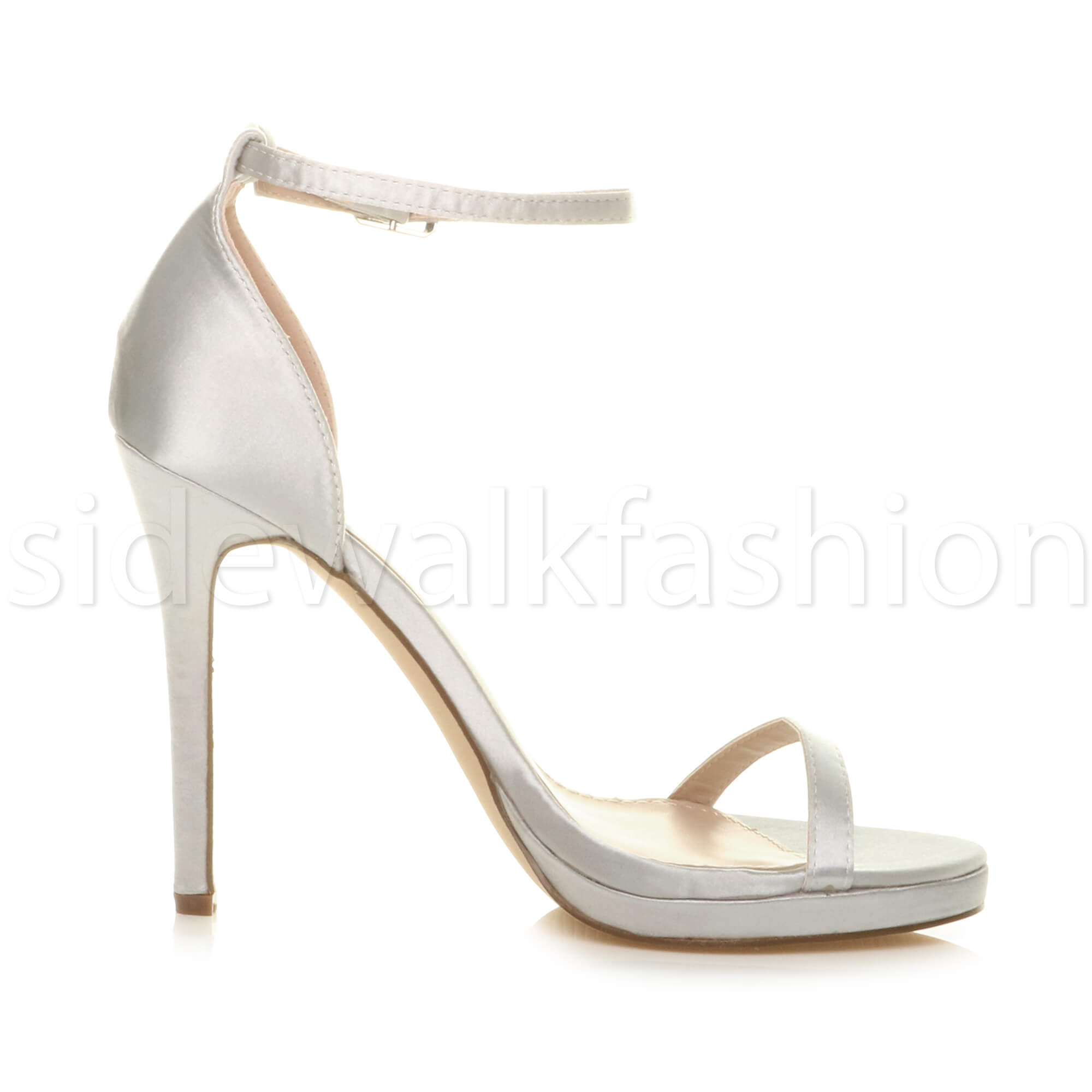 Womens-ladies-high-heel-barely-there-strappy-party-peep-toe-shoes-sandals-size thumbnail 128